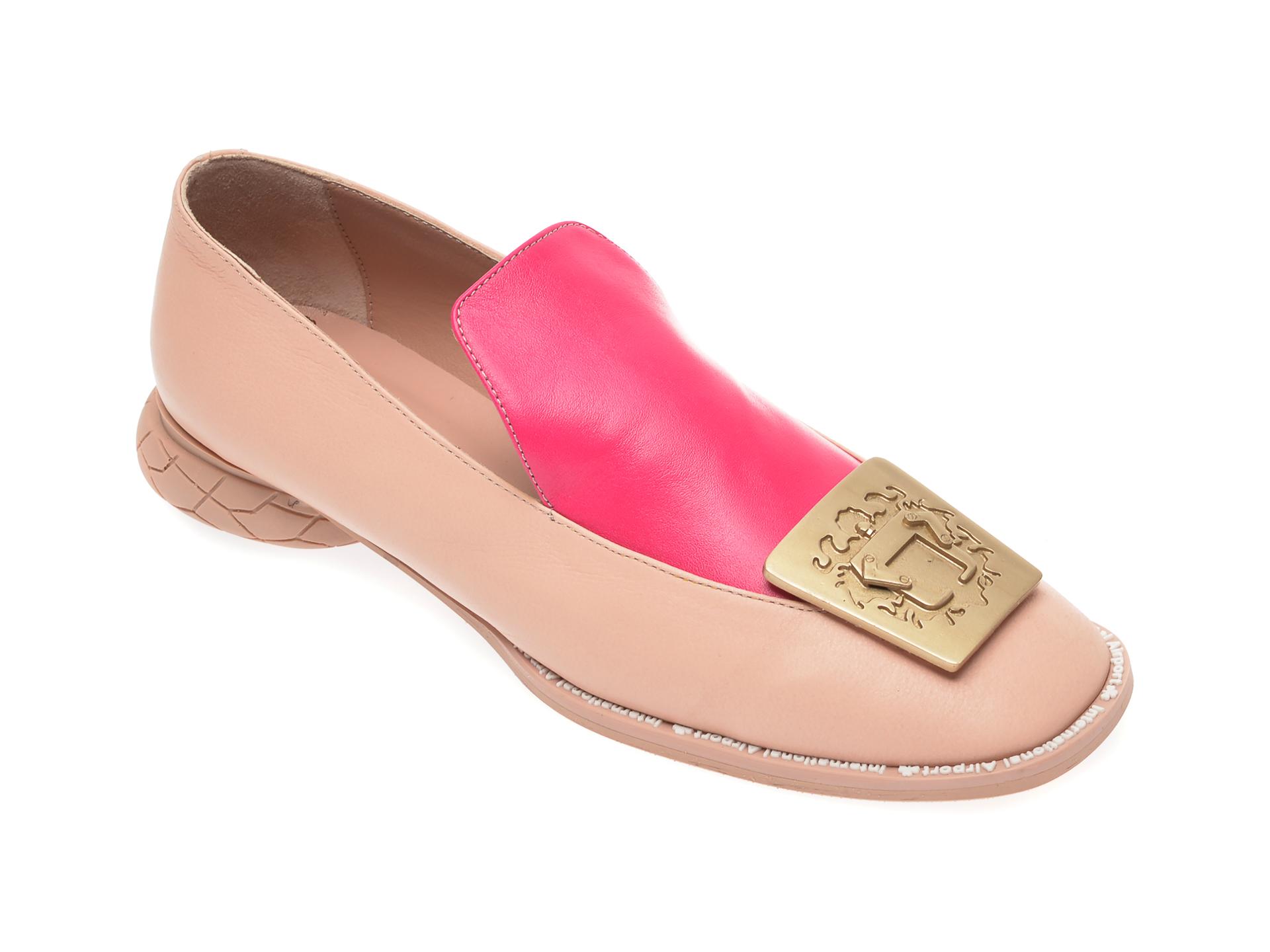 Pantofi FLAVIA PASSINI roz, GM4516, din piele naturala