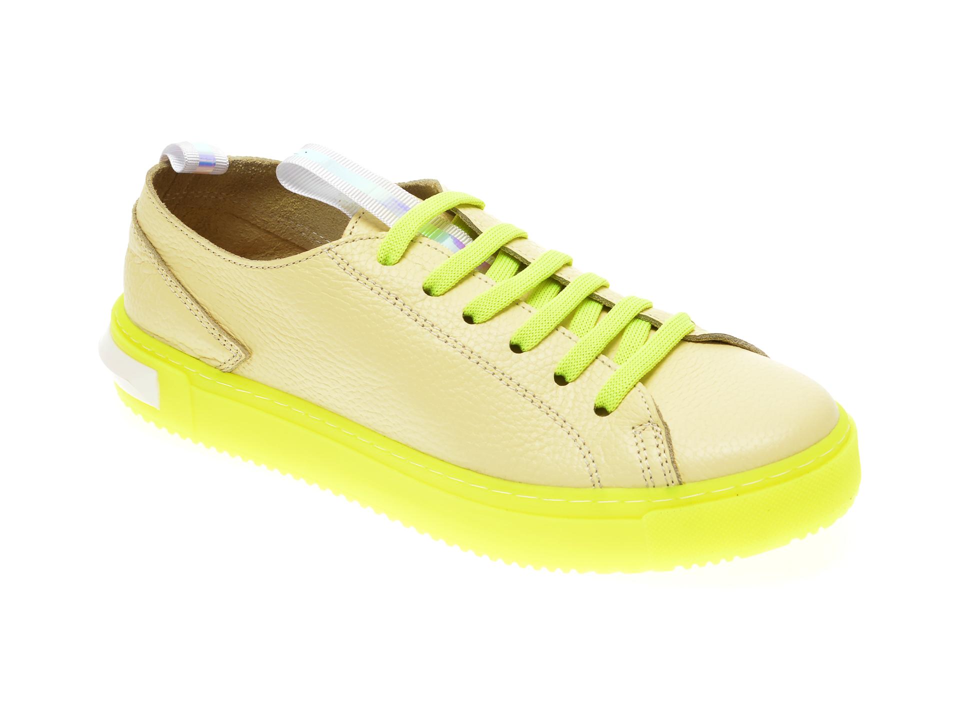 Pantofi FLAVIA PASSINI verzi, 0112658, din piele naturala