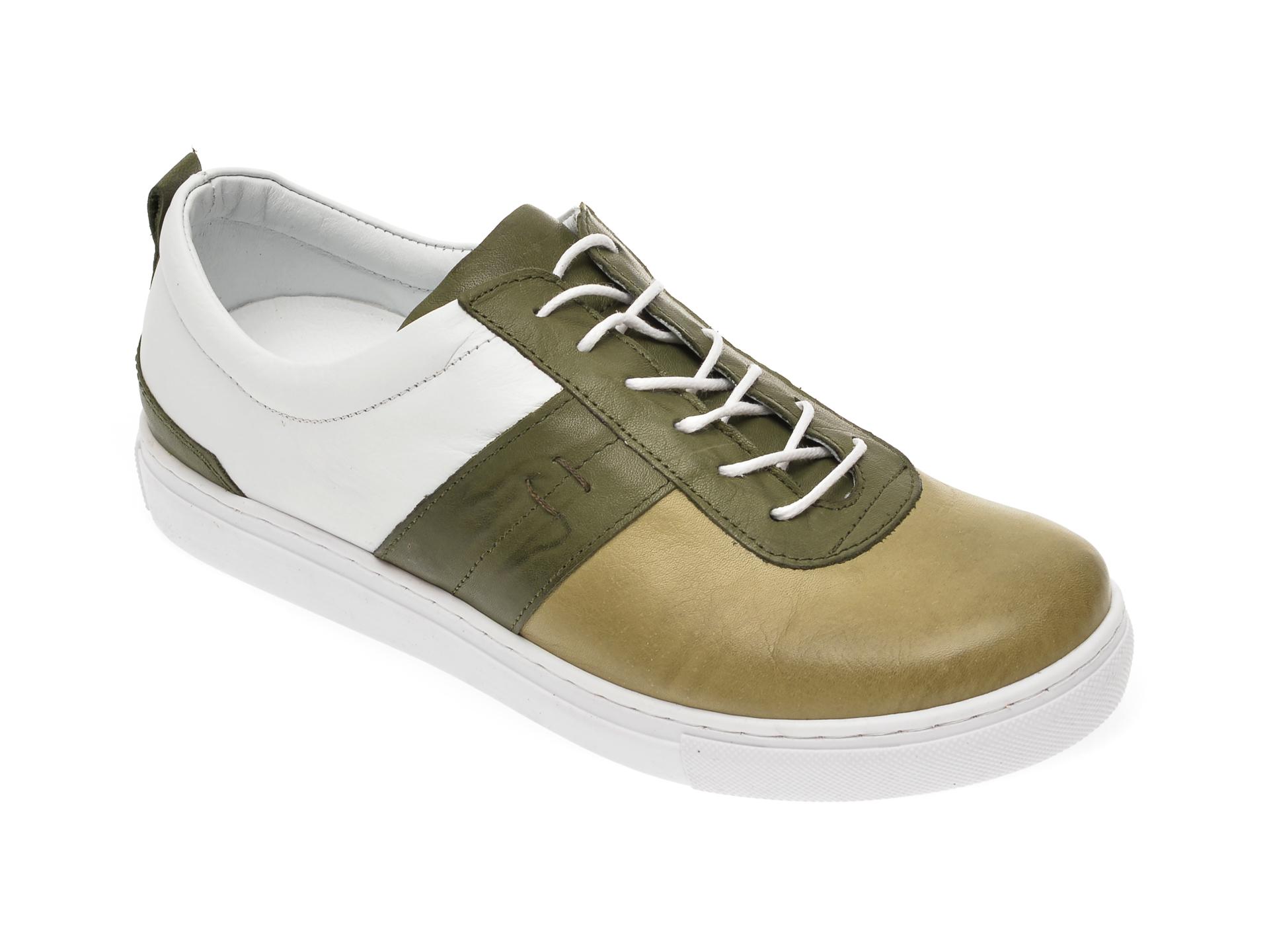 Pantofi FLAVIA PASSINI verzi, 2553003, din piele naturala