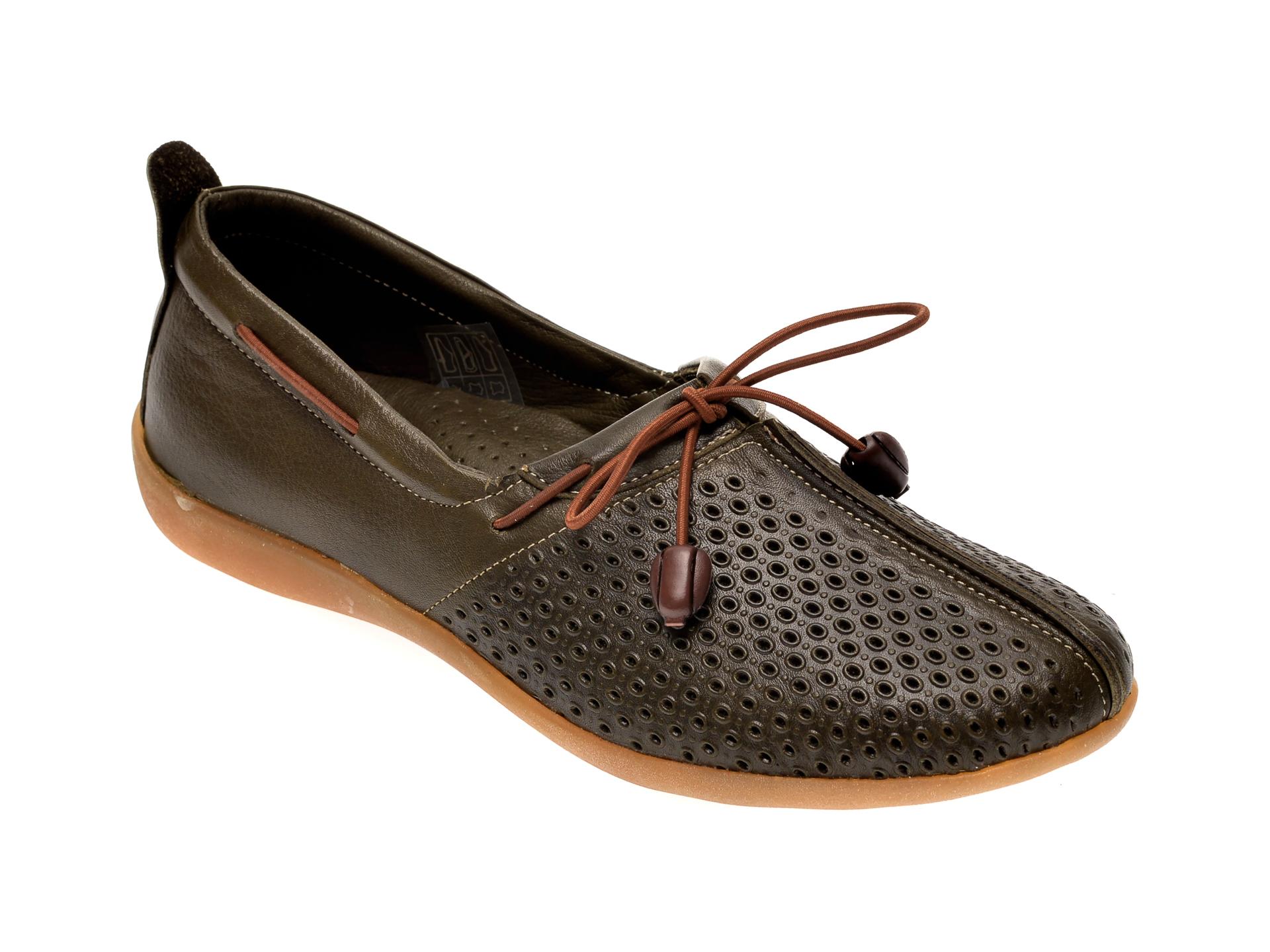 Pantofi FLAVIA PASSINI verzi, 306, din piele naturala