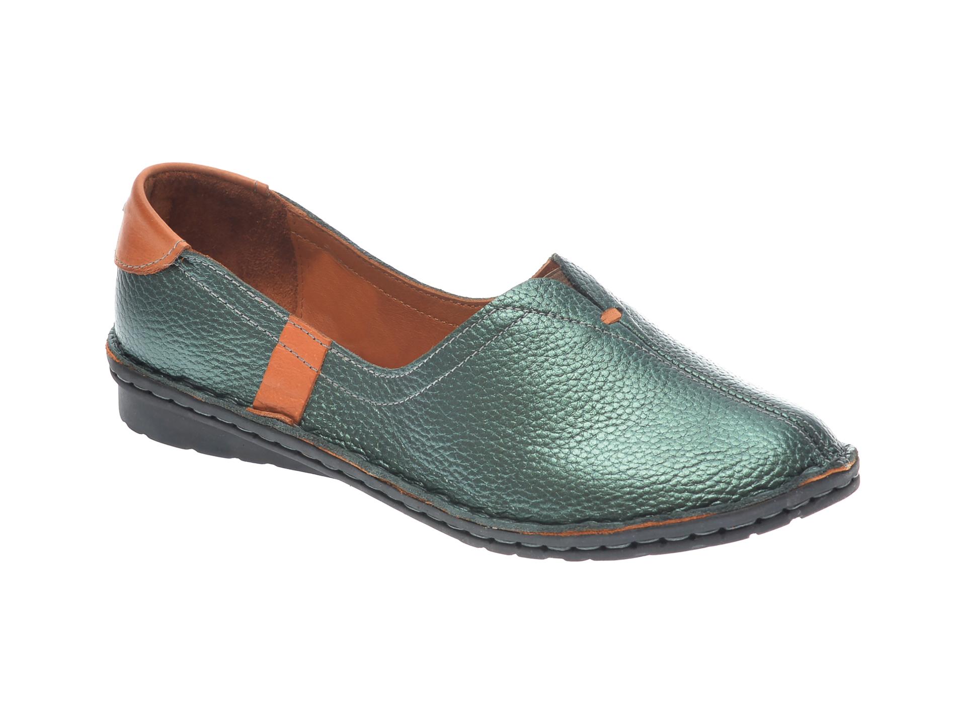 Pantofi FLAVIA PASSINI verzi, 952405, din piele naturala imagine