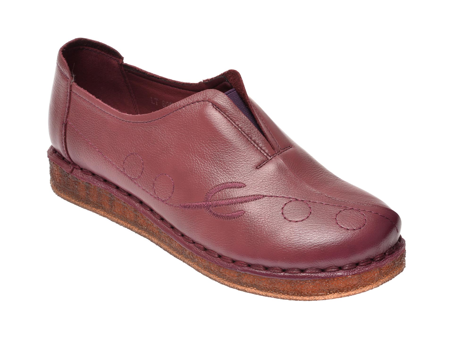 Pantofi FLAVIA PASSINI visinii, D8957, din piele naturala imagine