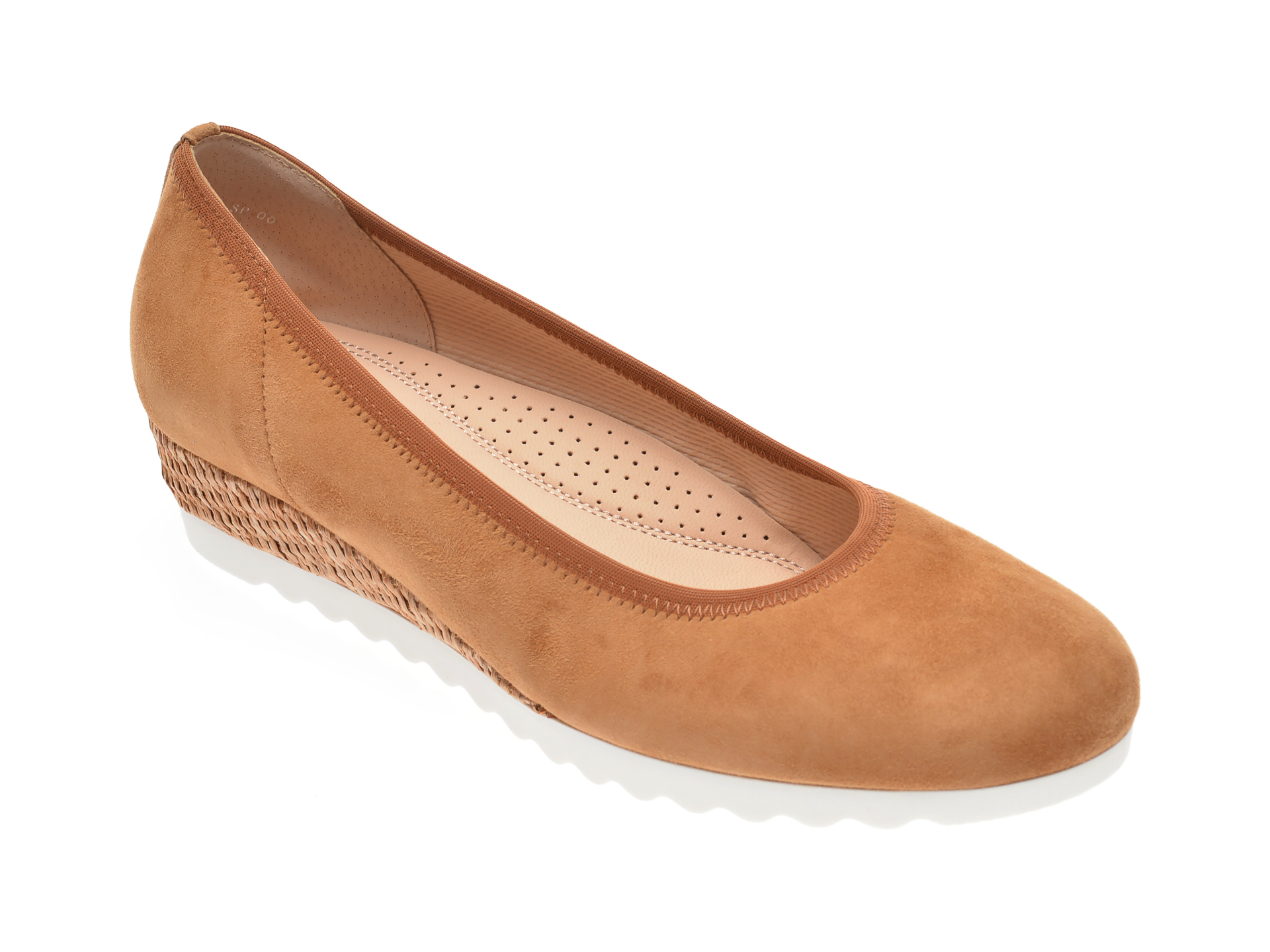 Pantofi GABOR maro, 42641, din piele intoarsa