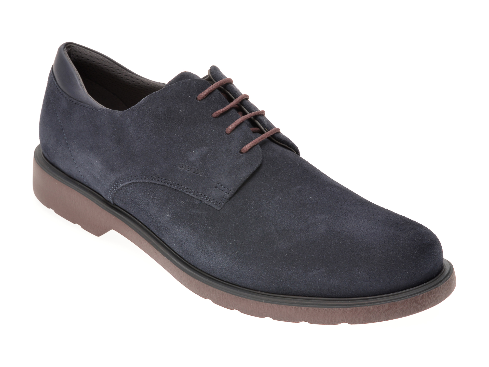 Pantofi GEOX bleumarin, U028WB, din piele intoarsa imagine