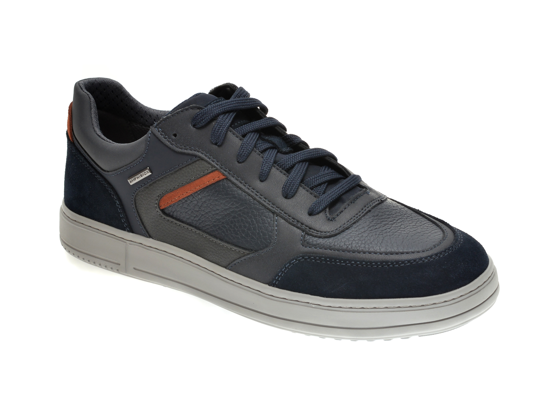 Pantofi GEOX bleumarin, U04AHB, din piele naturala imagine