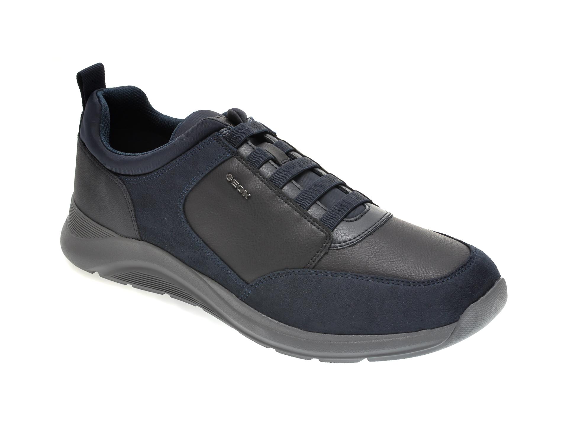 Pantofi GEOX bleumarin, U04AND, din piele ecologica imagine
