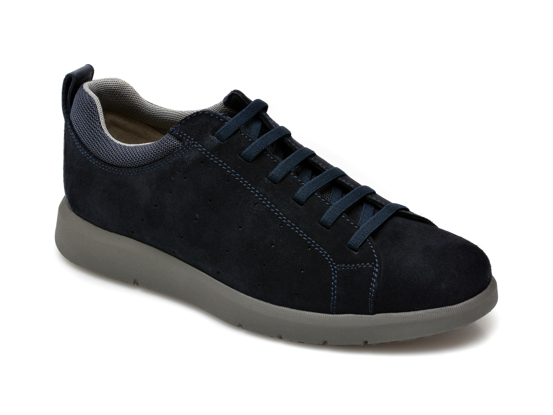 Pantofi GEOX bleumarin, U15AYC, din piele intoarsa New