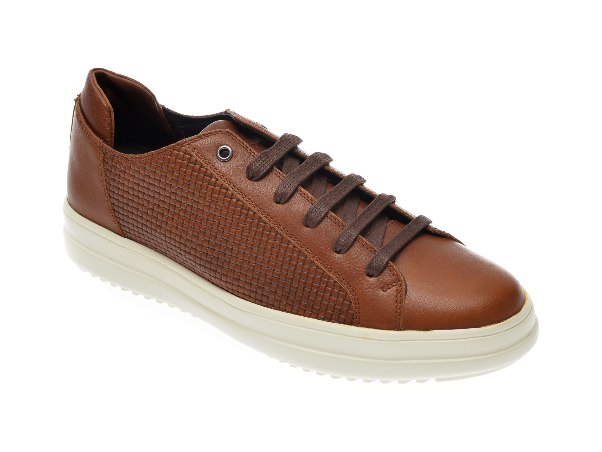 Pantofi GEOX maro, U947QD, din piele naturala imagine