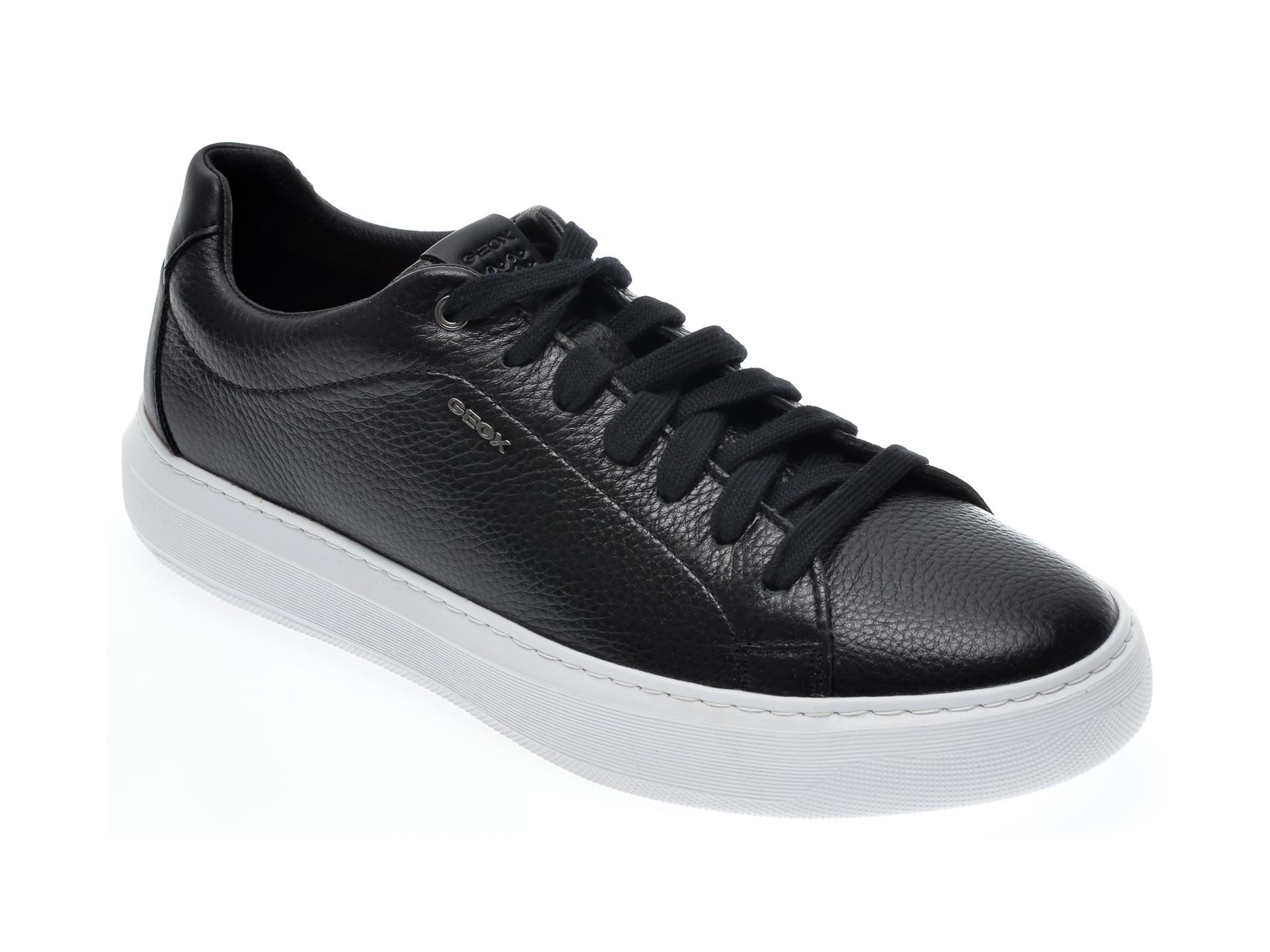 Pantofi GEOX negri, U845WB, din piele naturala imagine
