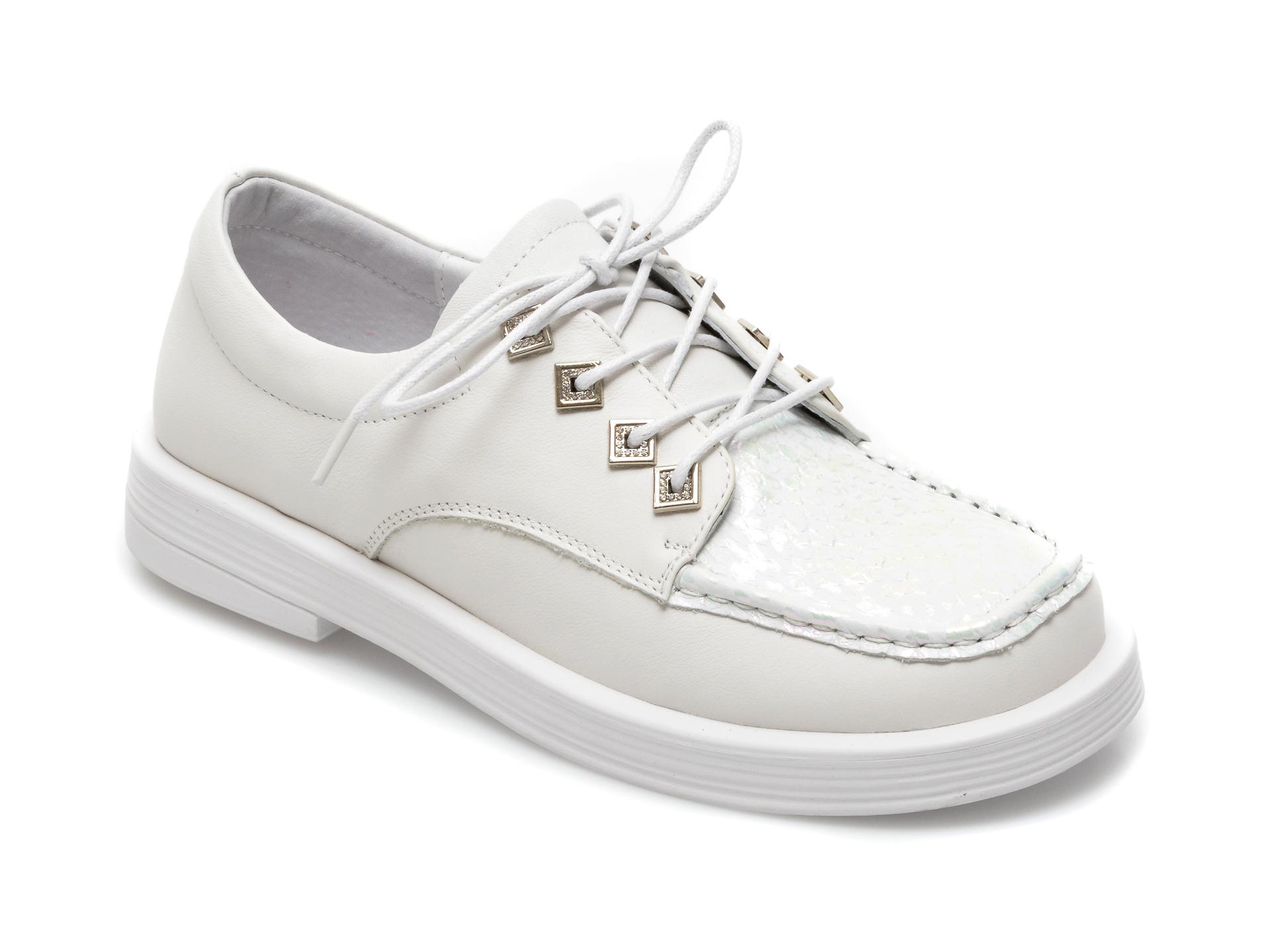 Pantofi GRYXX albi, A21158, din piele naturala imagine otter.ro 2021