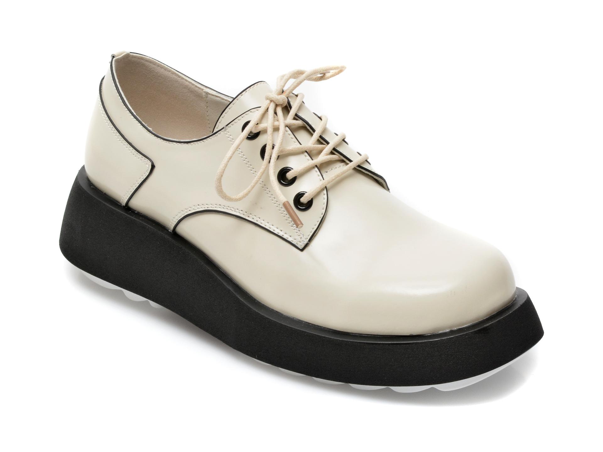 Pantofi GRYXX albi, Z021, din piele naturala imagine otter.ro 2021