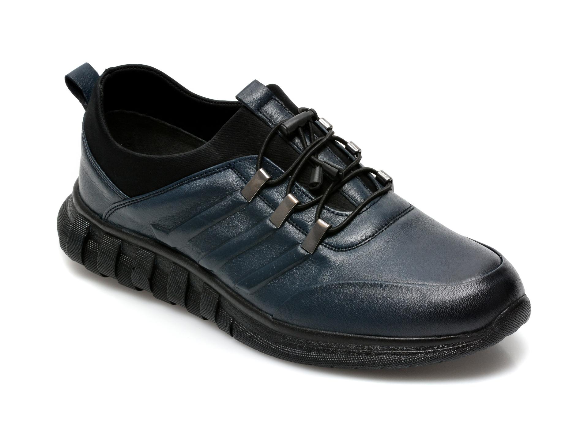 Pantofi GRYXX bleumarin, SYR102, din piele naturala imagine otter.ro 2021