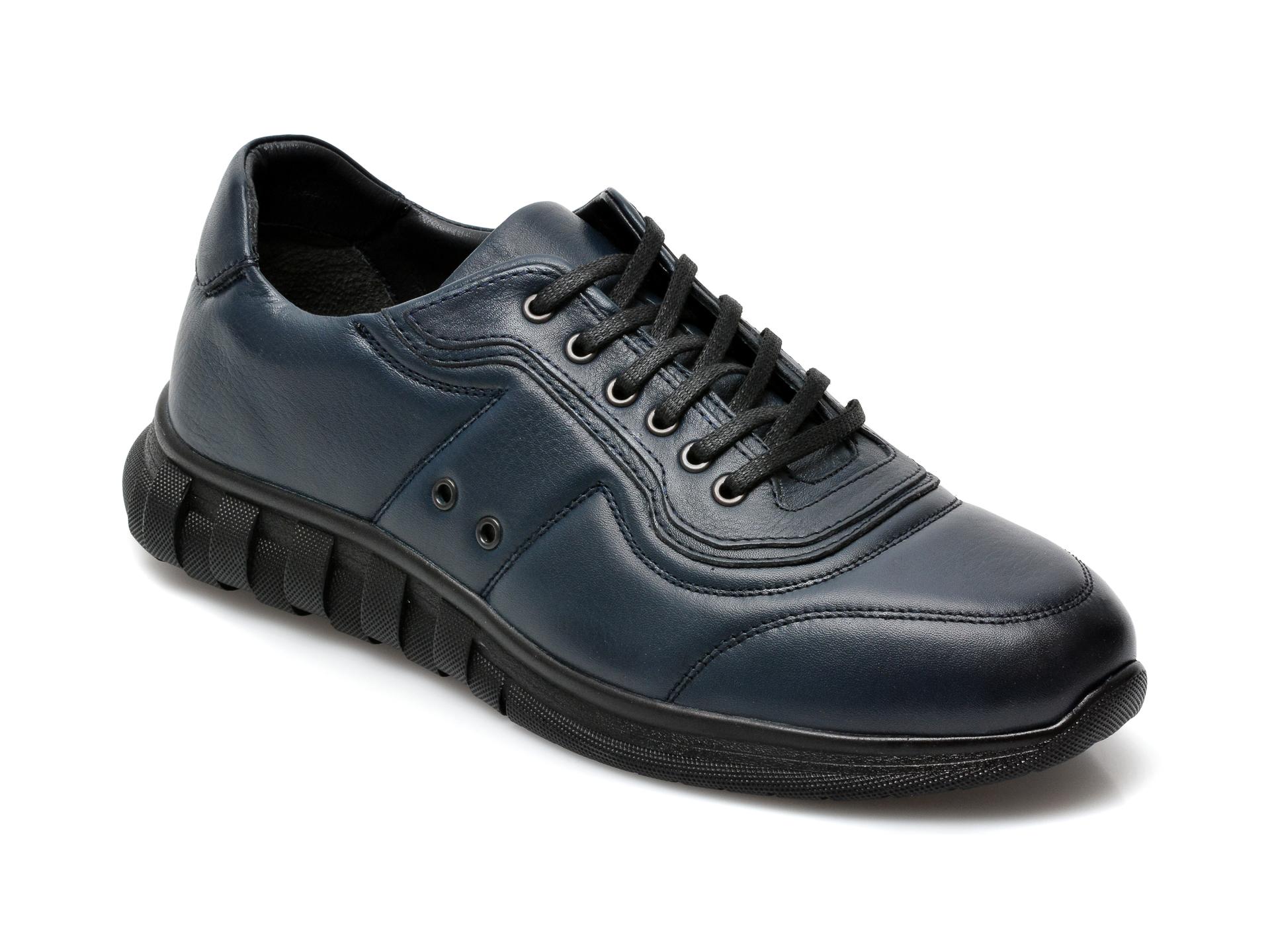 Pantofi GRYXX bleumarin, SYR103, din piele naturala imagine otter.ro 2021