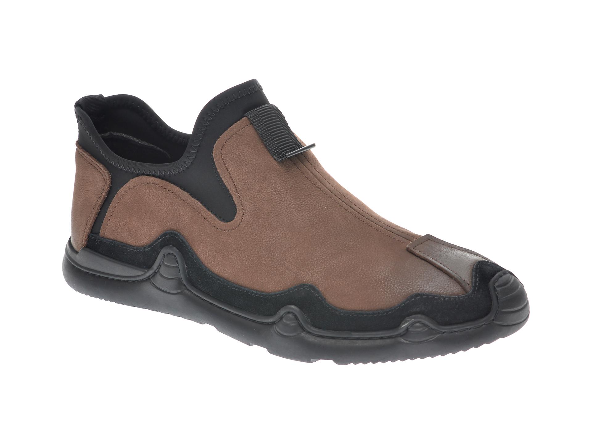 Pantofi GRYXX maro, M803802, din piele naturala imagine