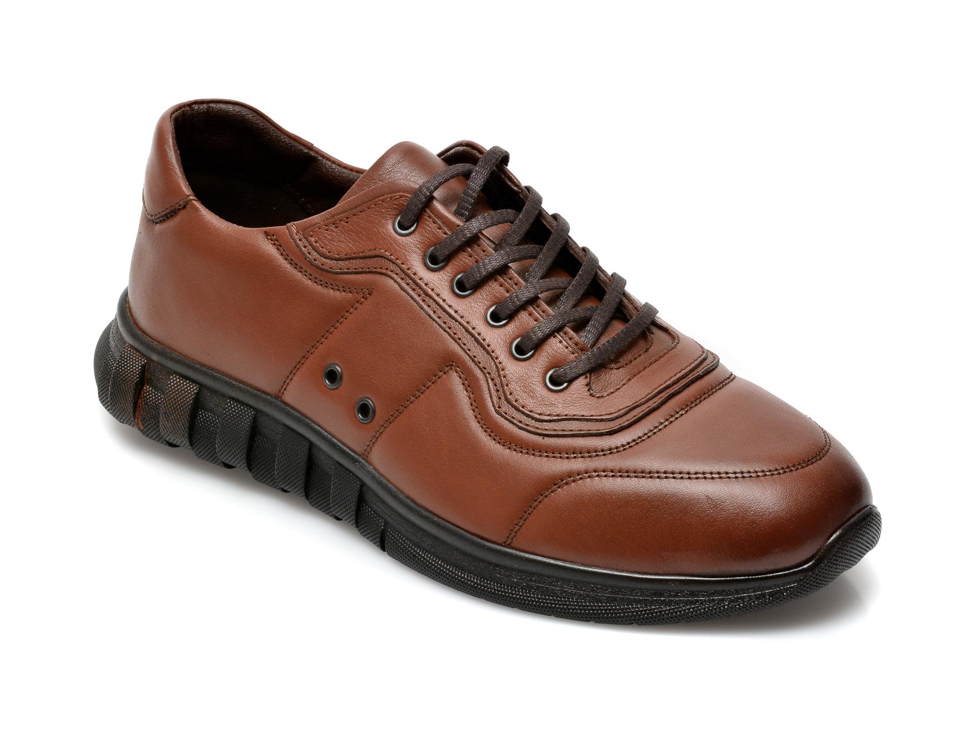 Pantofi GRYXX maro, SYR103, din piele naturala imagine otter.ro 2021