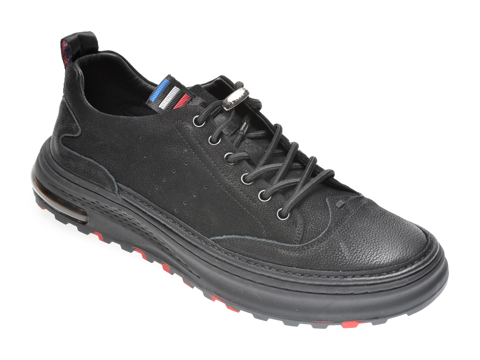 Pantofi GRYXX negri, 9999, din nabuc imagine
