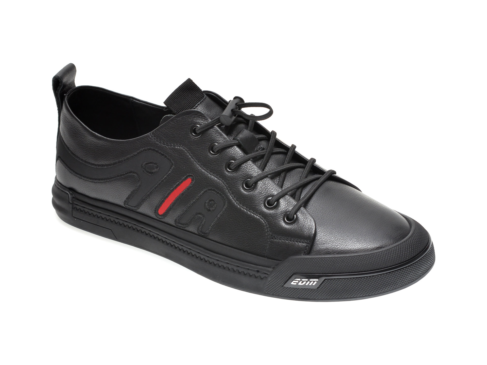 Pantofi GRYXX negri, A02672, din piele naturala imagine