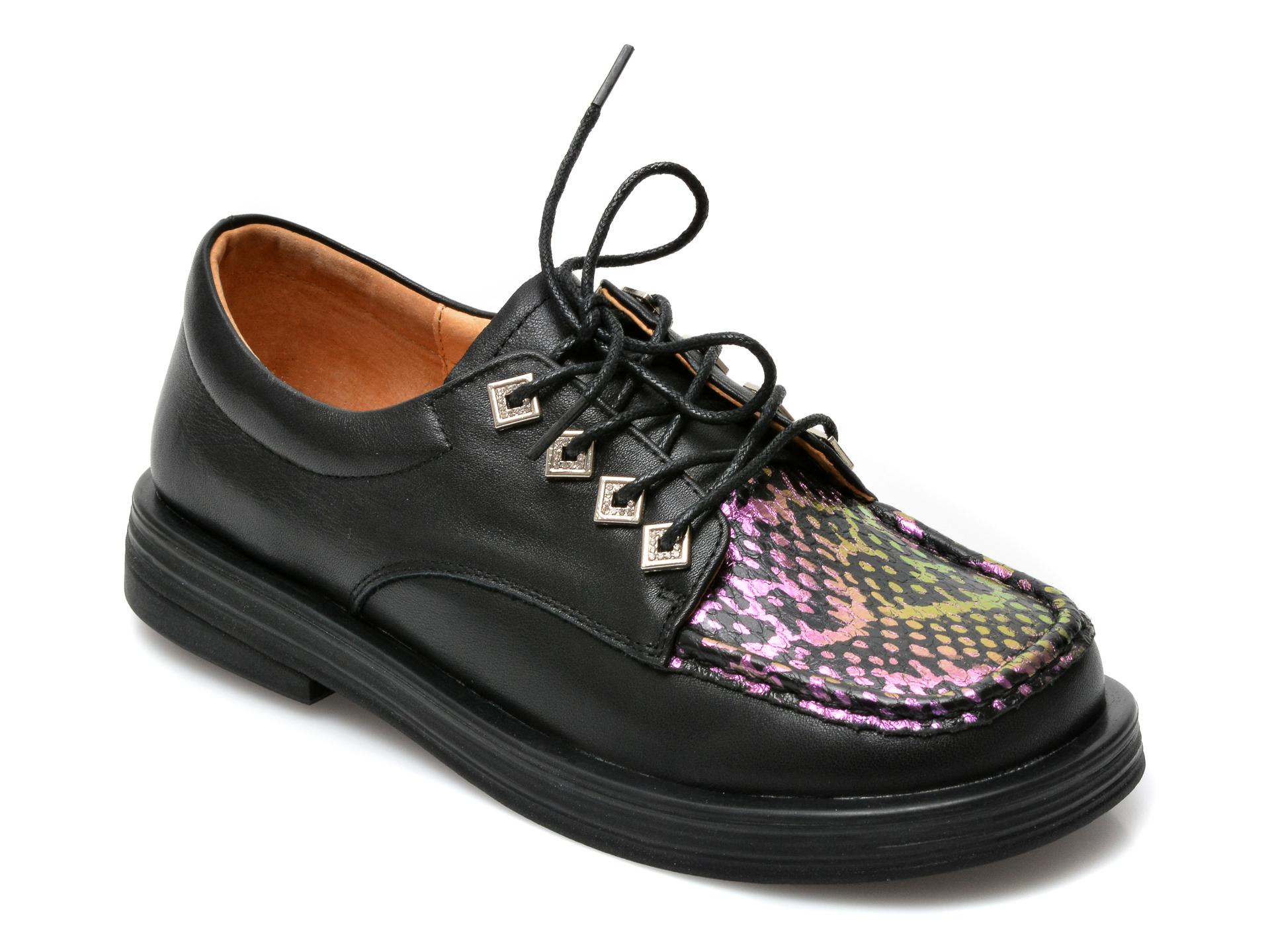 Pantofi GRYXX negri, A21158, din piele naturala imagine otter.ro 2021