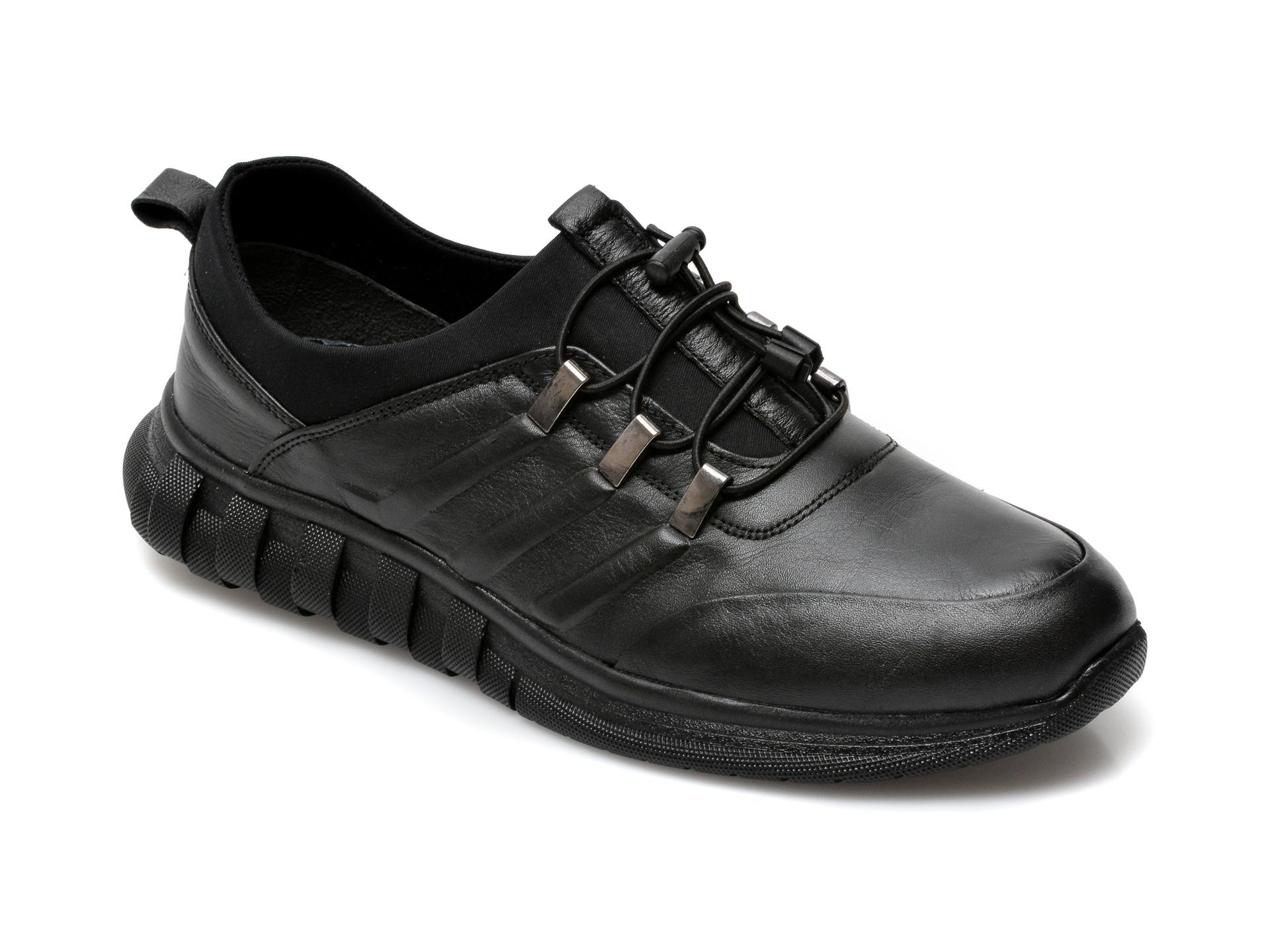 Pantofi GRYXX negri, SYR102, din piele naturala imagine otter.ro 2021