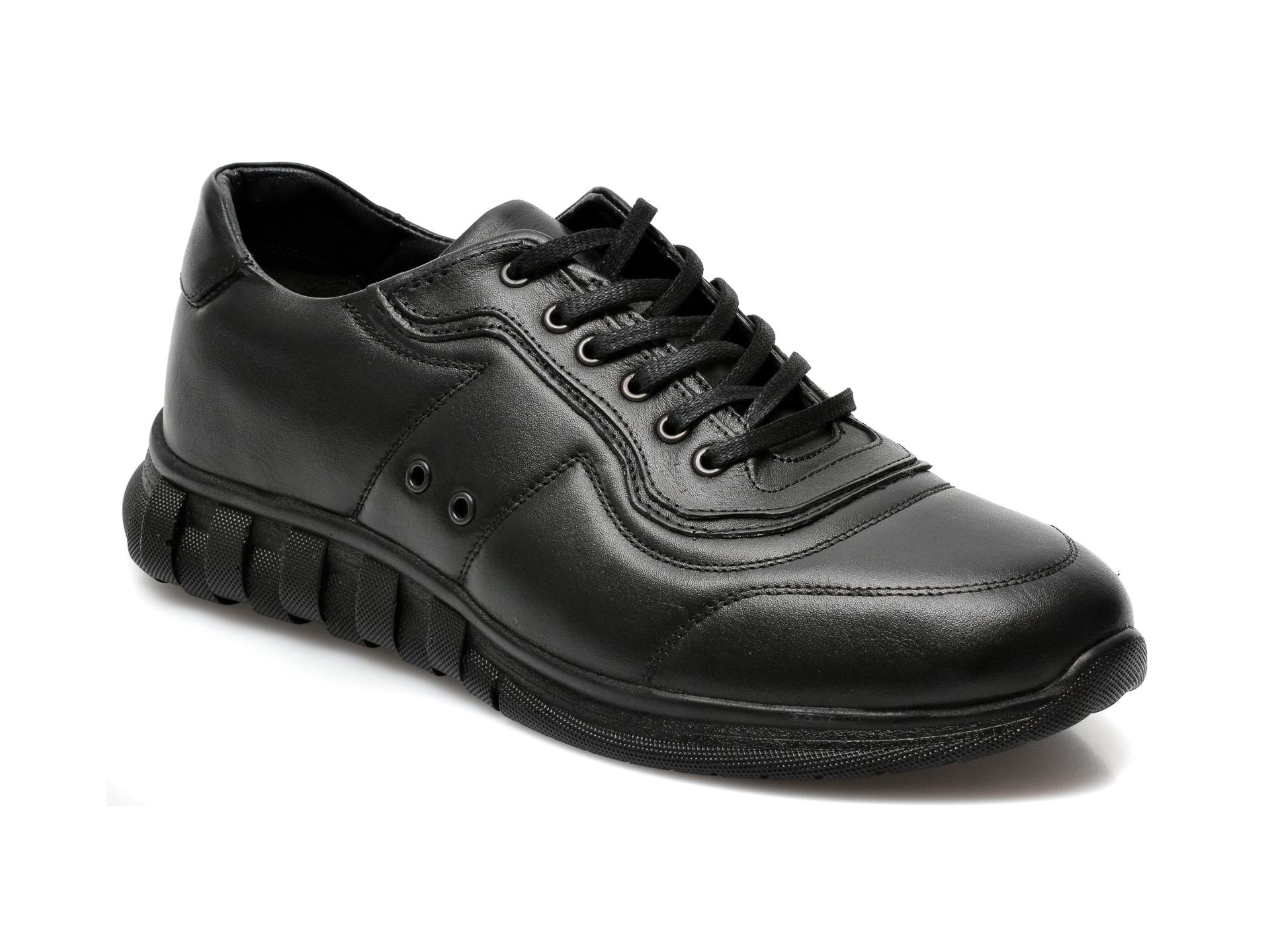 Pantofi GRYXX negri, SYR103, din piele naturala imagine otter.ro 2021