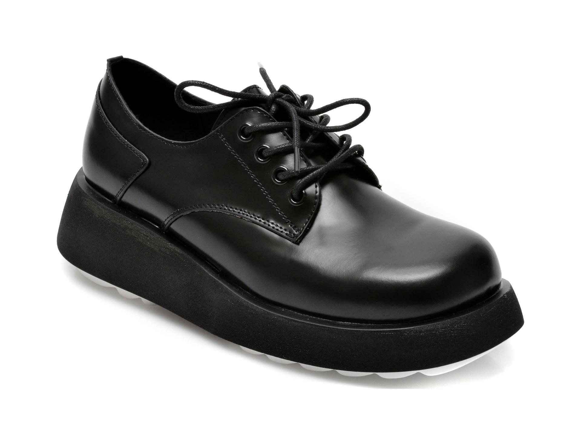 Pantofi GRYXX negri, Z021, din piele naturala imagine otter.ro 2021