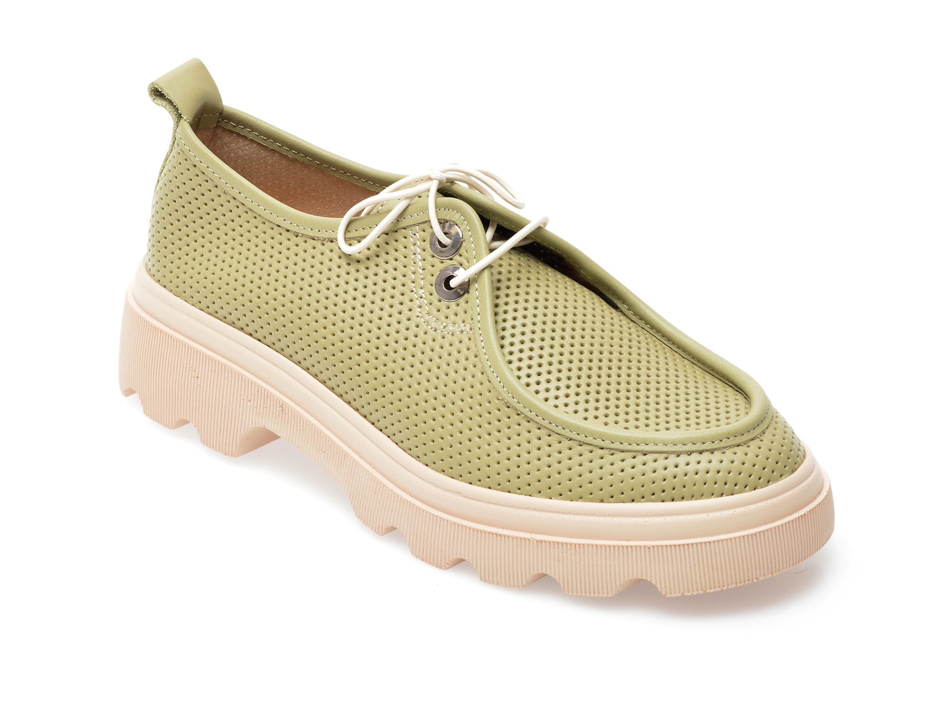 Pantofi GRYXX verzi, 195802, din piele naturala imagine otter.ro 2021