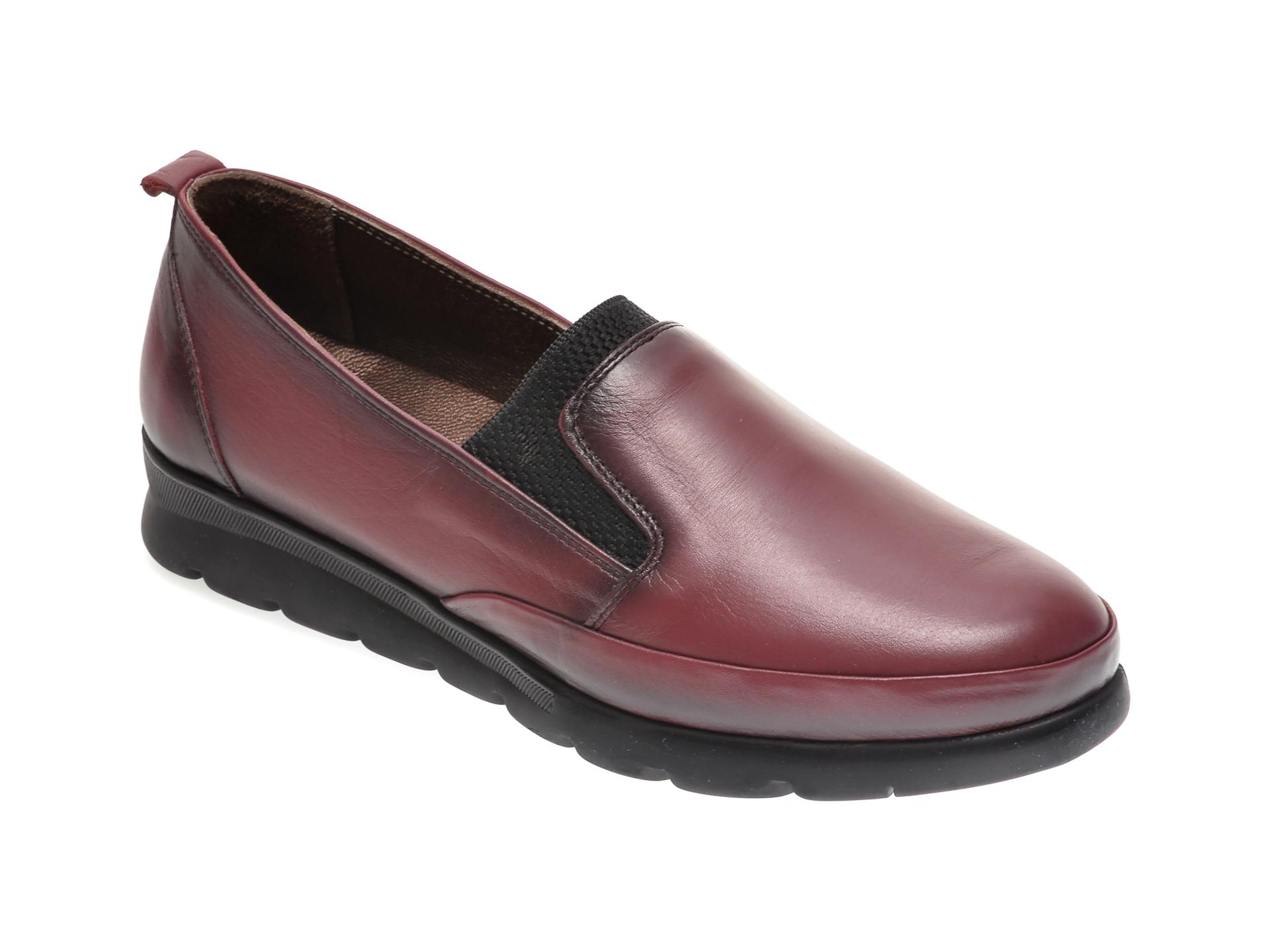 Pantofi ILOZ visinii, 740, din piele naturala imagine