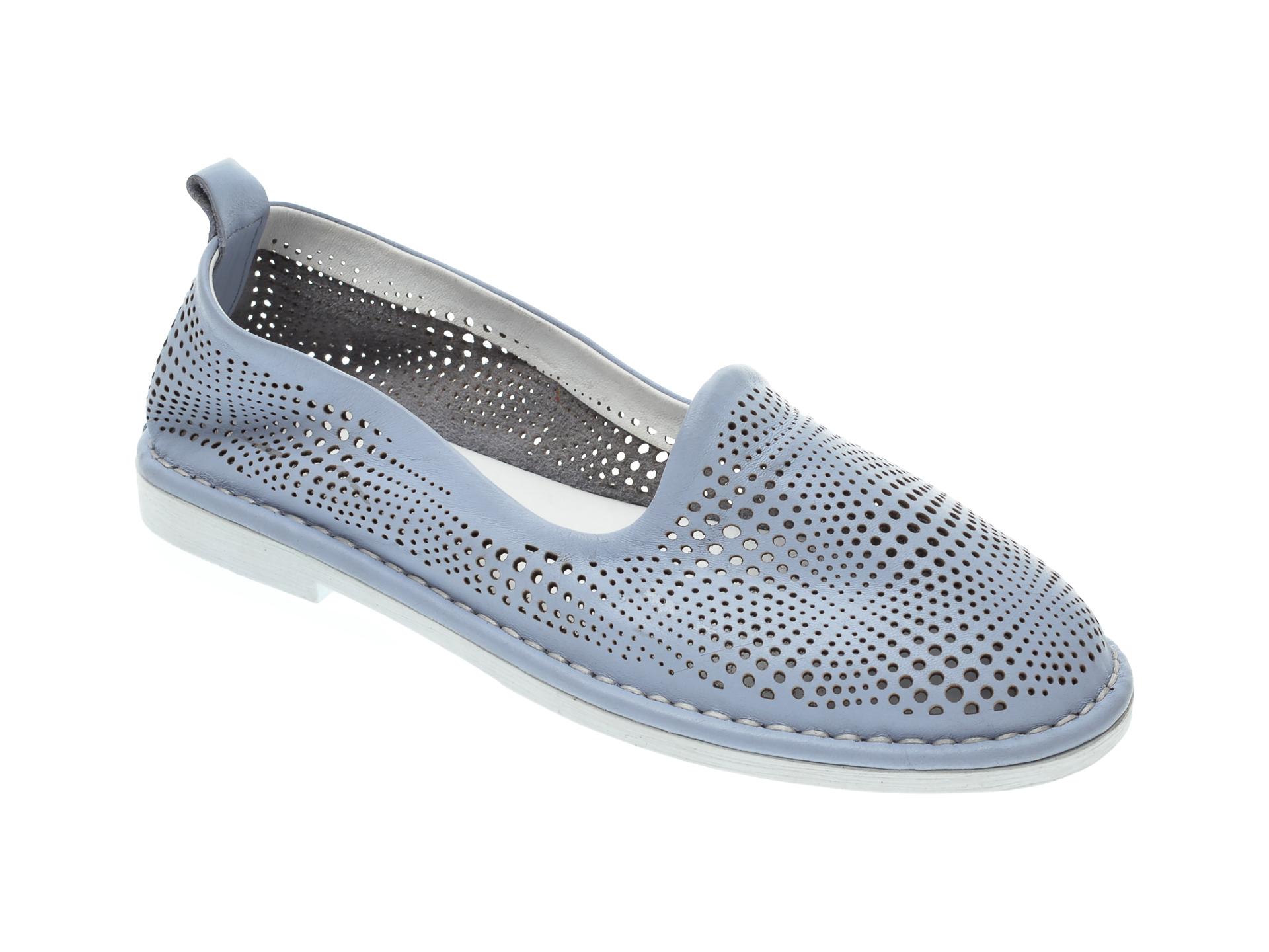 Pantofi LE BERDE albastri, 31, din piele naturala imagine otter.ro 2021