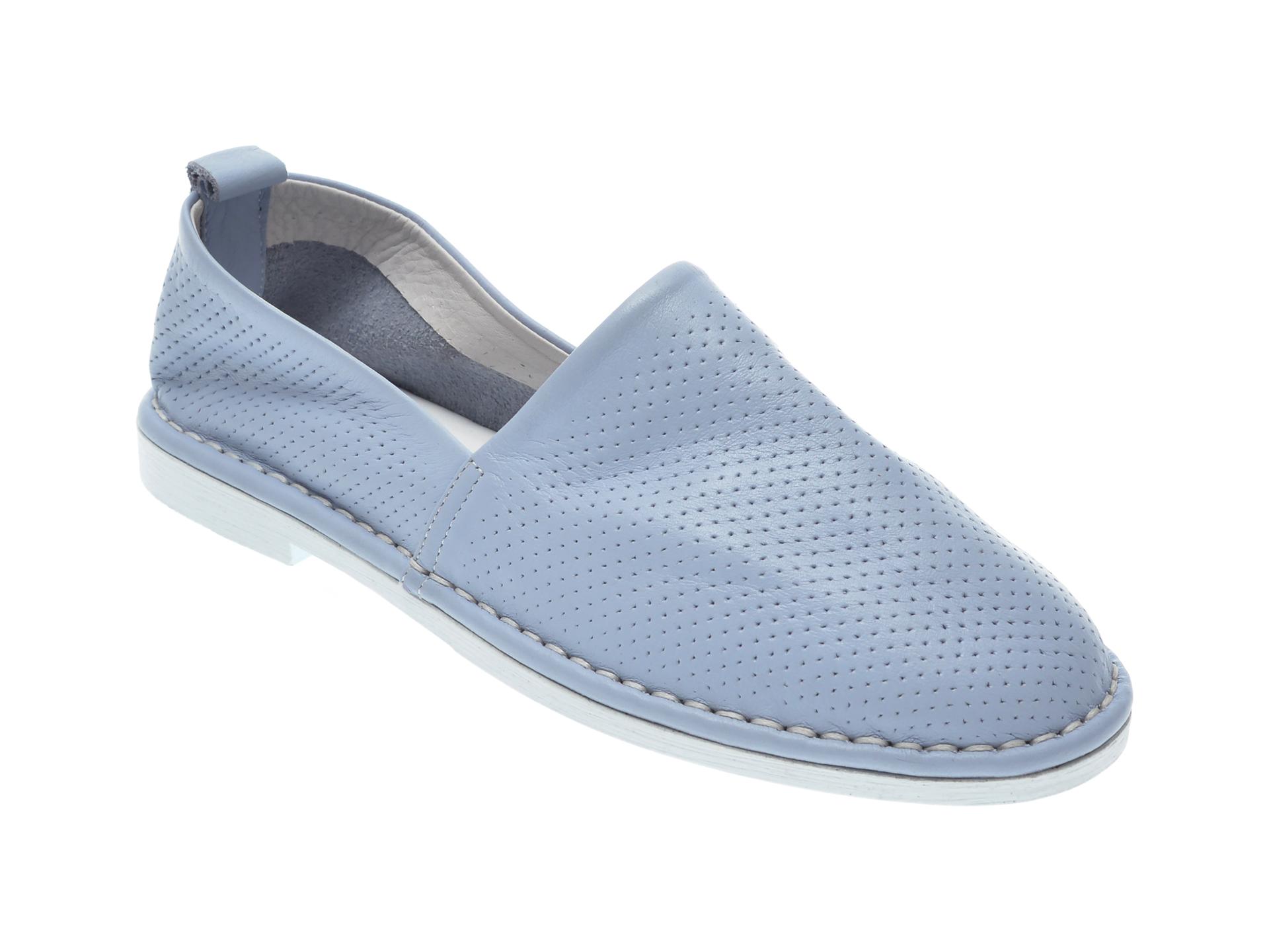 Pantofi LE BERDE albastri, 4, din piele naturala imagine otter.ro 2021
