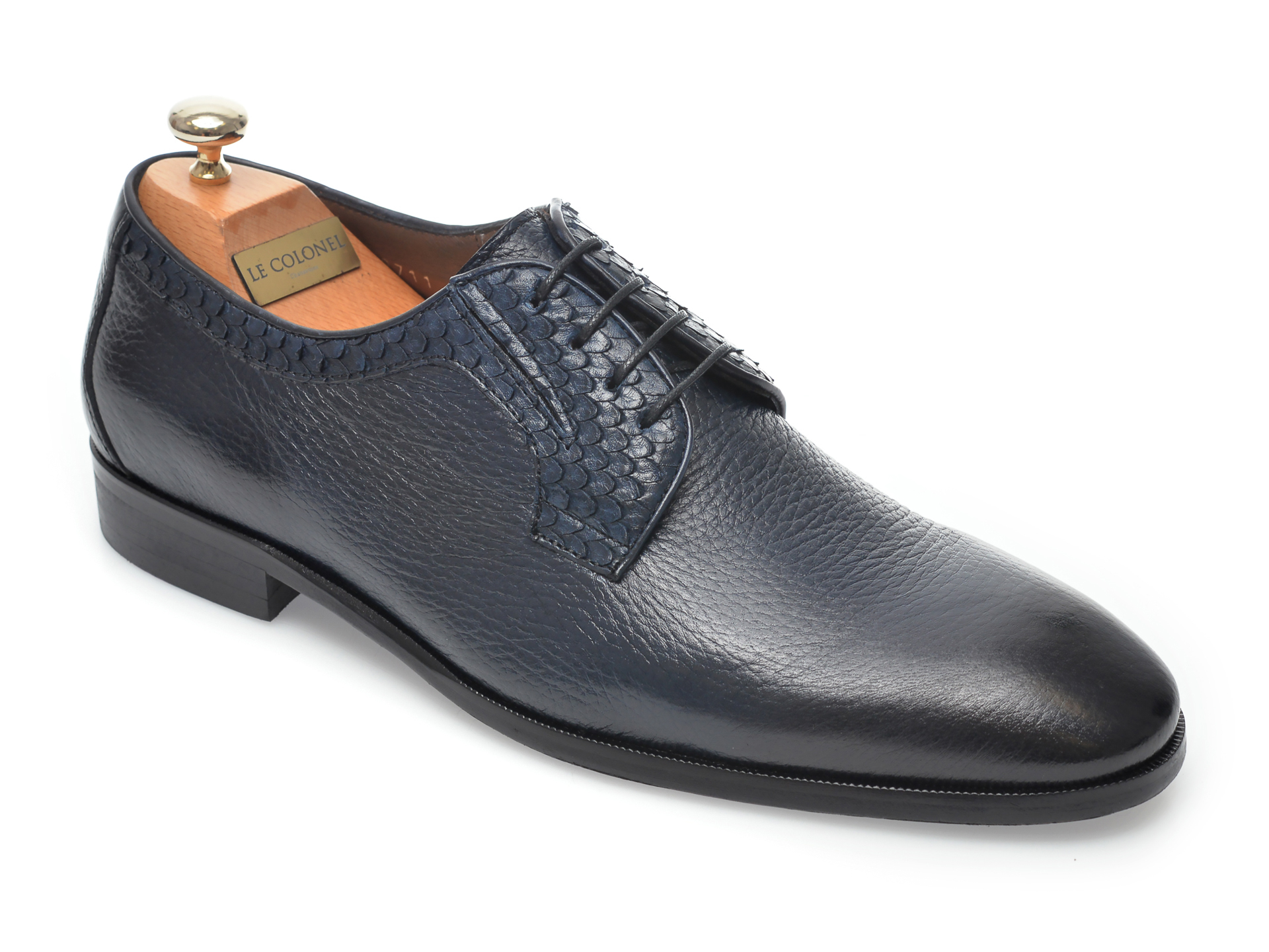 Pantofi LE COLONEL bleumarin, 48711, din piele naturala imagine otter.ro 2021