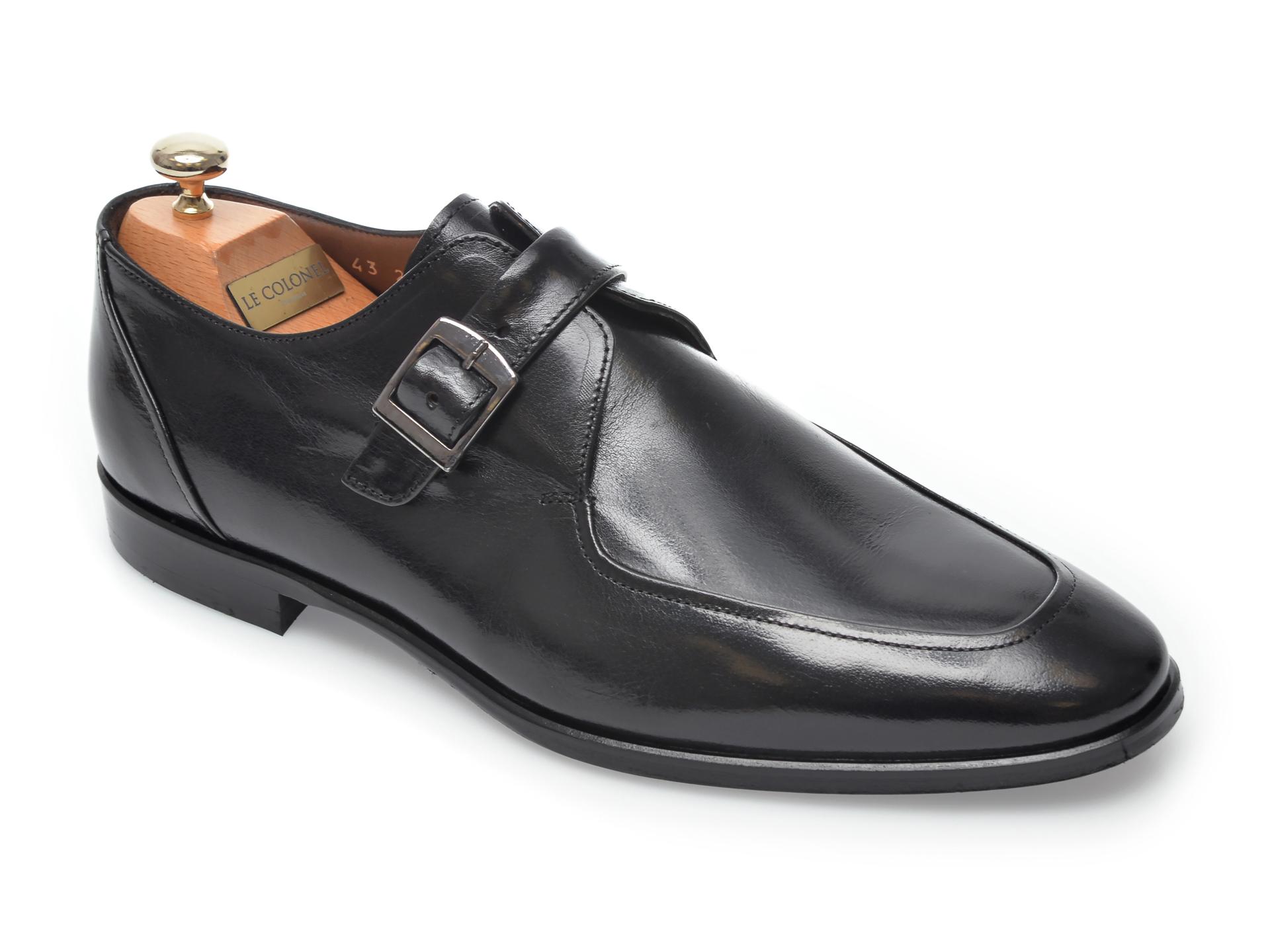 Pantofi LE COLONEL negri, 47901, din piele naturala imagine otter.ro 2021