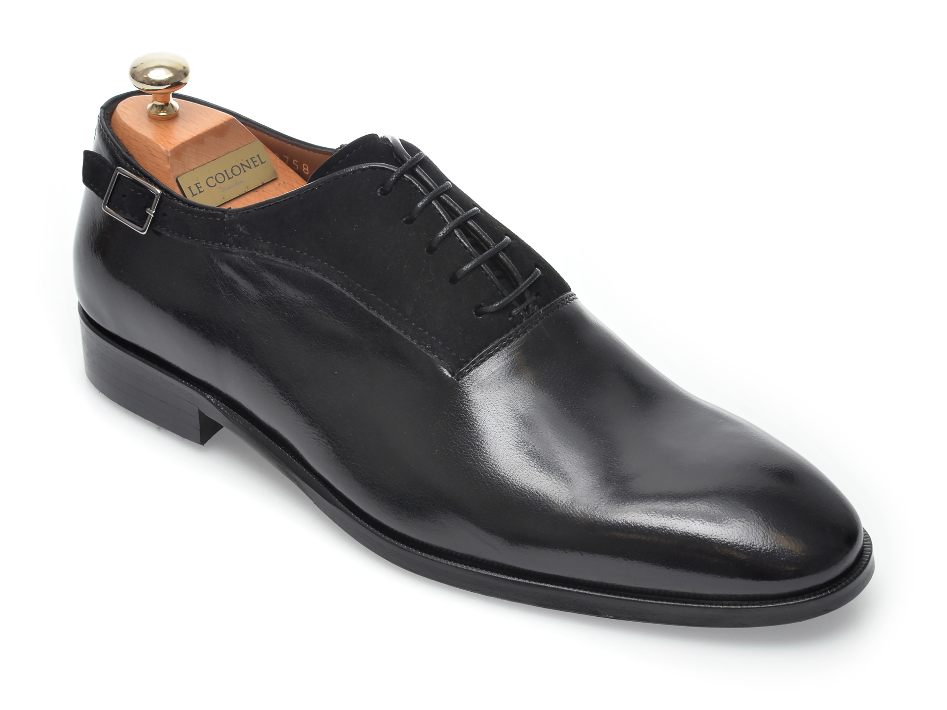 Pantofi LE COLONEL negri, 48758, din piele naturala imagine otter.ro 2021