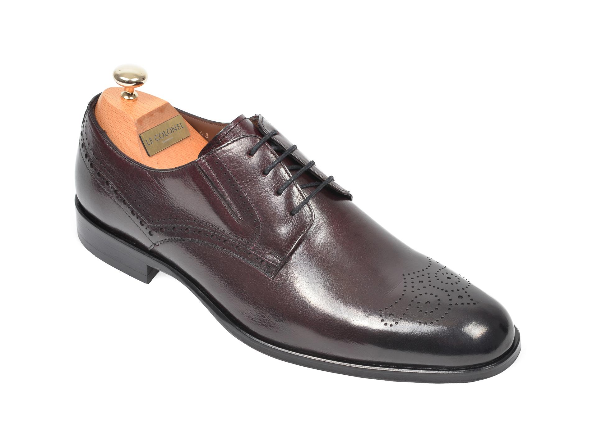 Pantofi LE COLONEL visinii, 62401, din piele naturala imagine