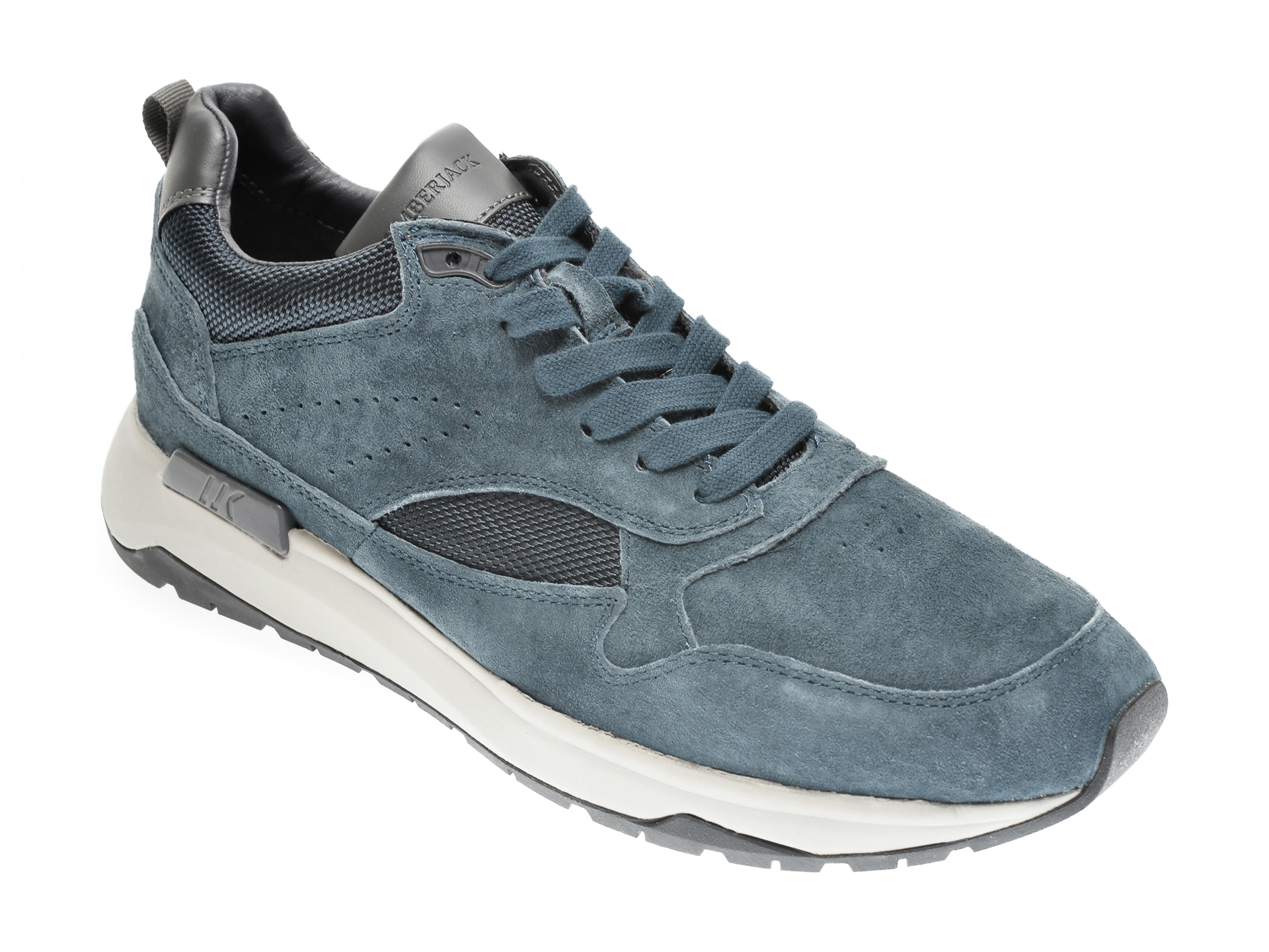 Pantofi LUMBERJACK bleumarin, 405006, din piele intoarsa imagine