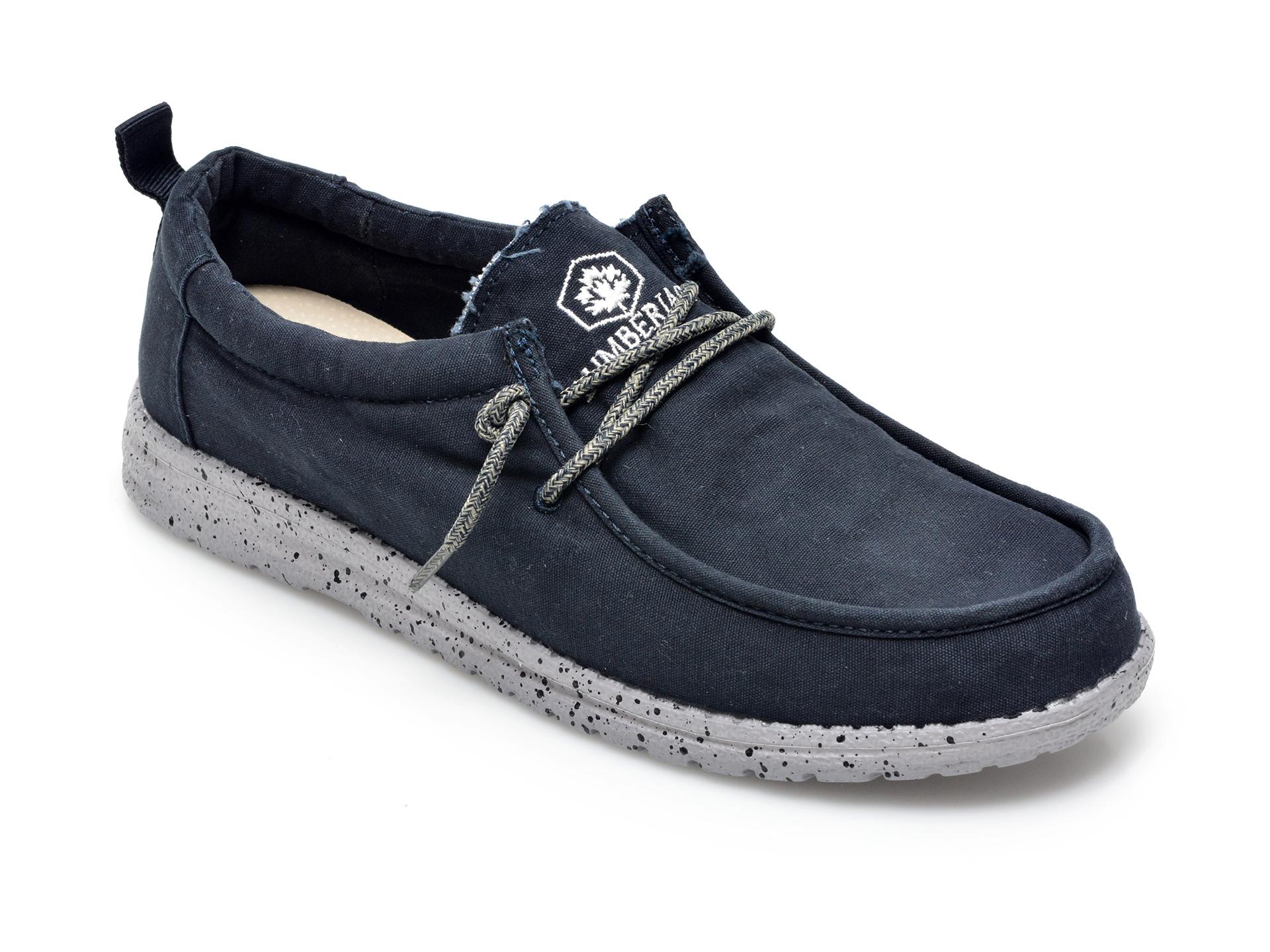 Pantofi LUMBERJACK bleumarin, A101001, din material textil imagine otter.ro 2021