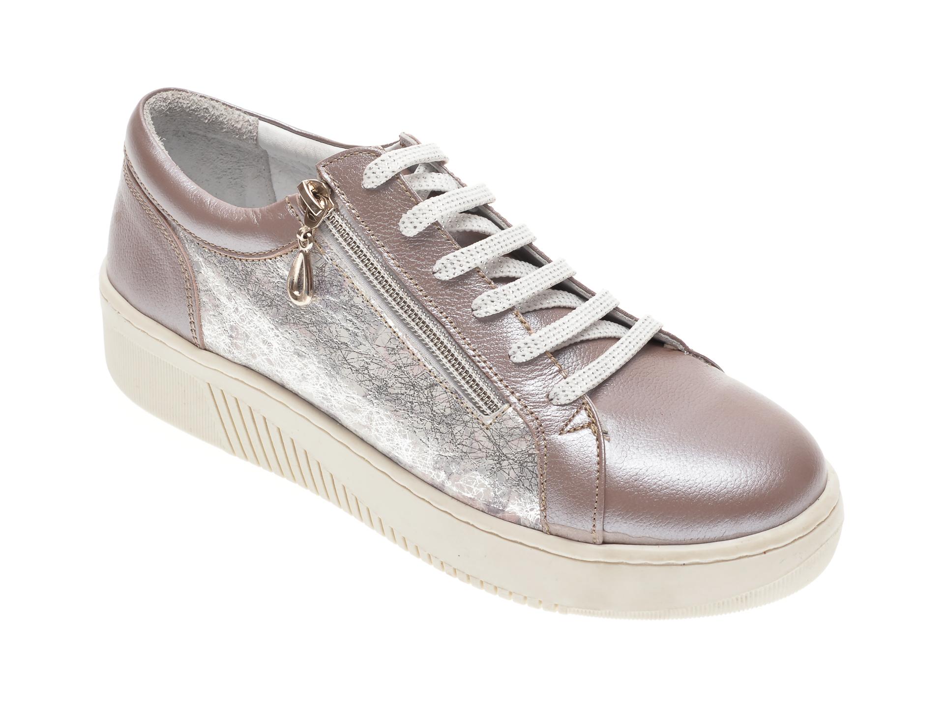 Pantofi LUMEL gri, 495, din piele naturala