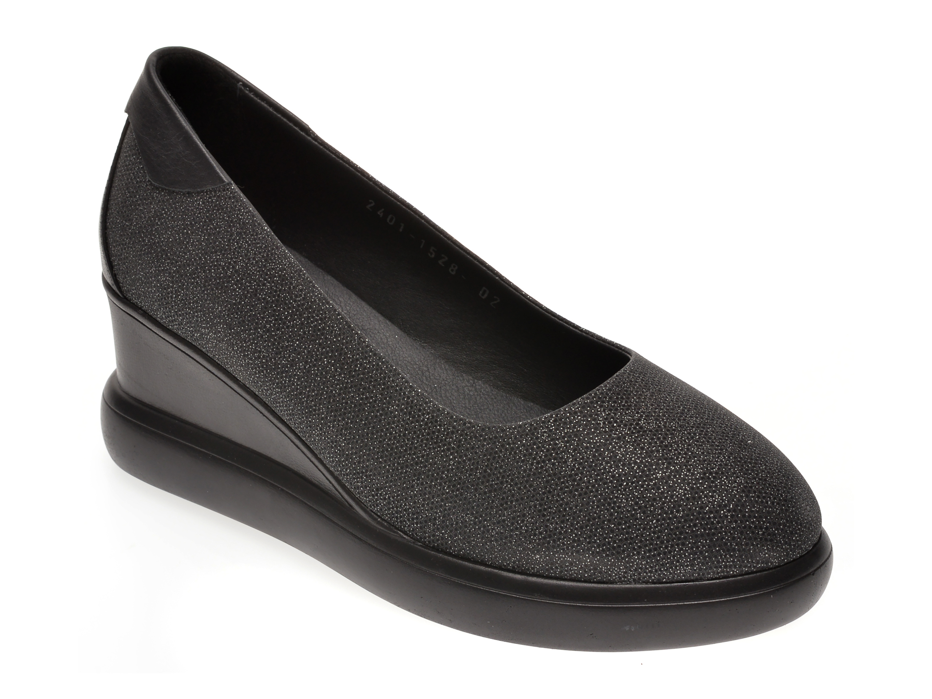 Pantofi MISS LIZA negri, 1182401, din piele naturala
