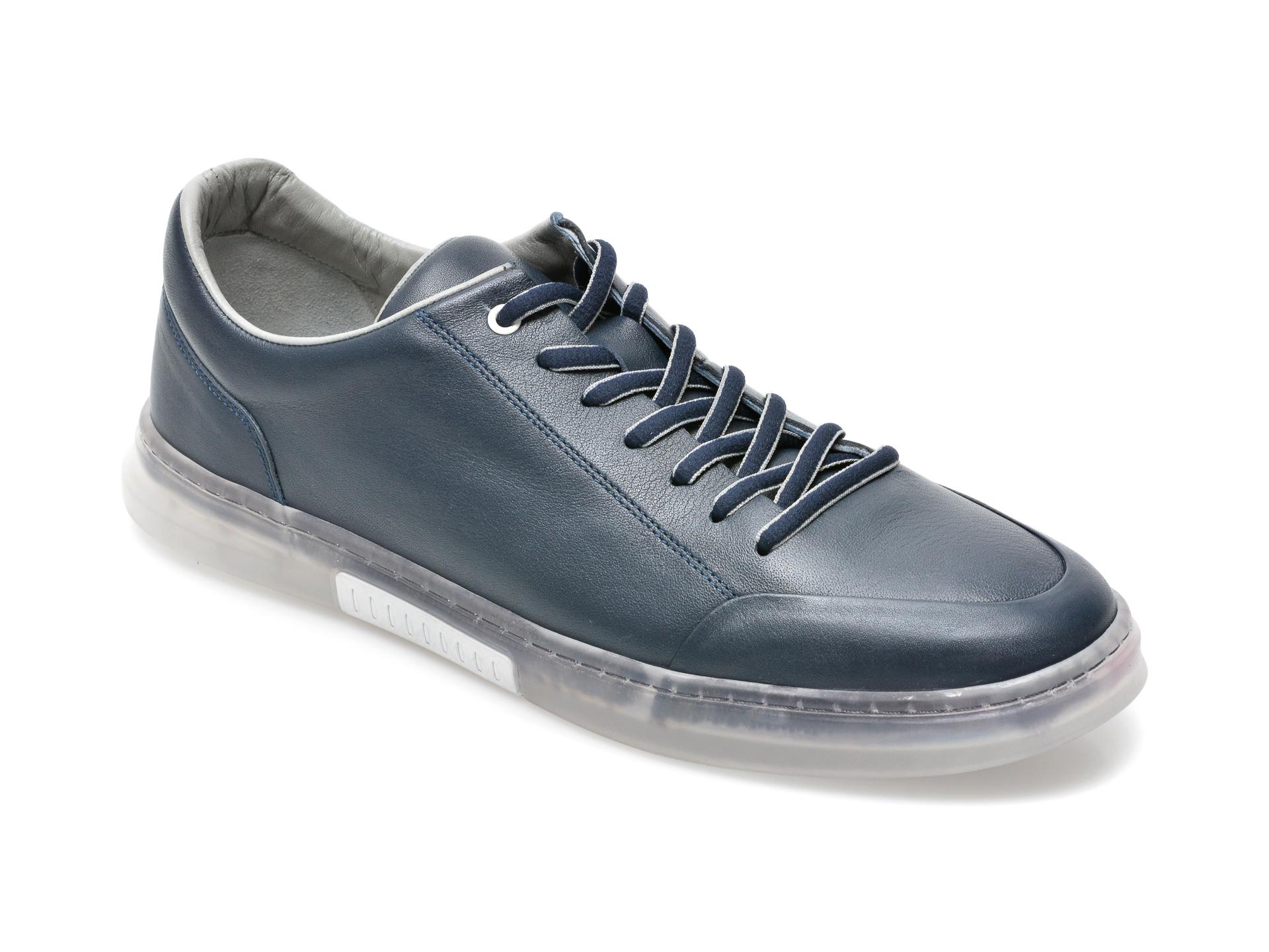 Pantofi OTTER bleumarin, 22601, din piele naturala imagine otter.ro 2021