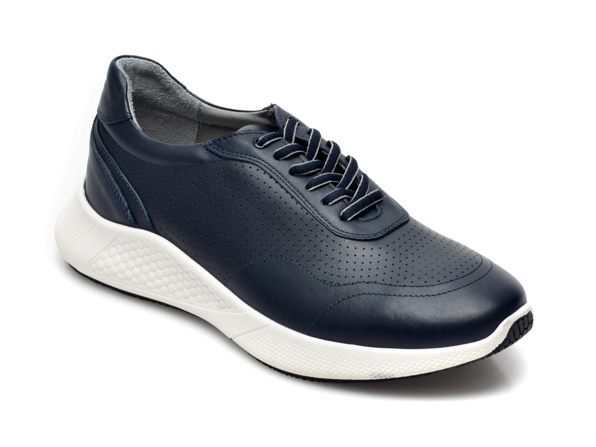 Pantofi OTTER bleumarin, 25403, din piele naturala imagine otter.ro 2021