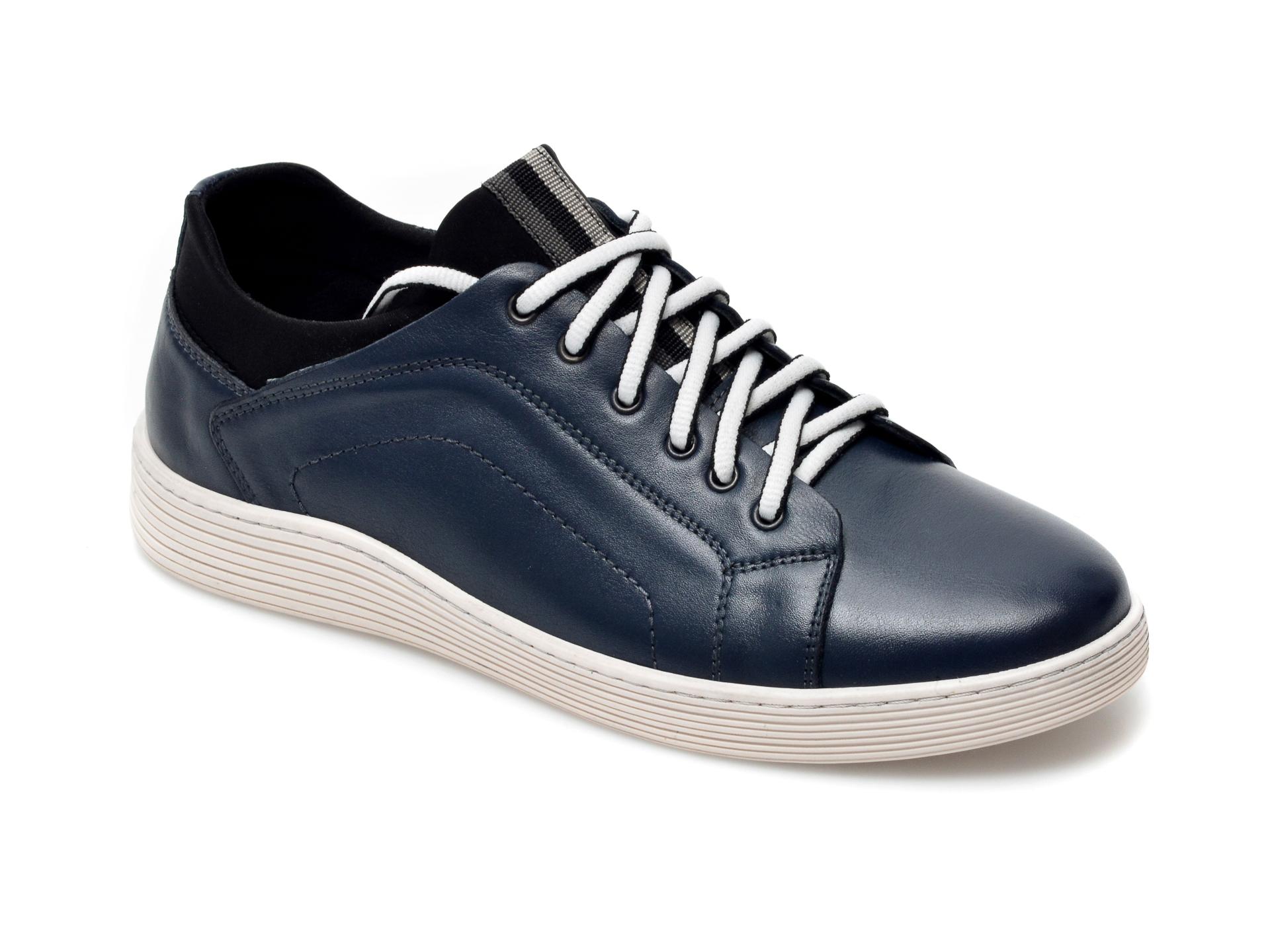 Pantofi OTTER bleumarin, 940, din piele naturala imagine otter.ro 2021