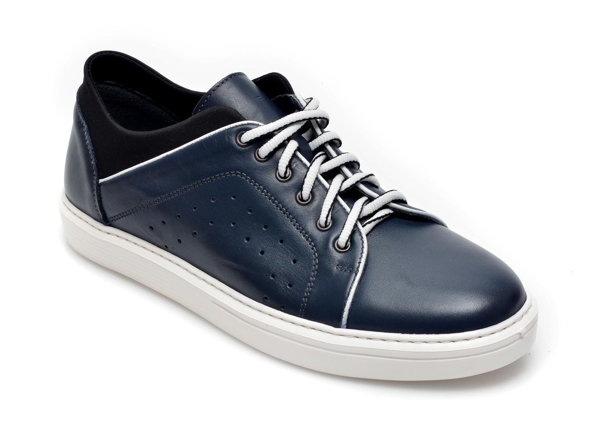 Pantofi OTTER bleumarin, 959, din piele naturala imagine otter.ro 2021