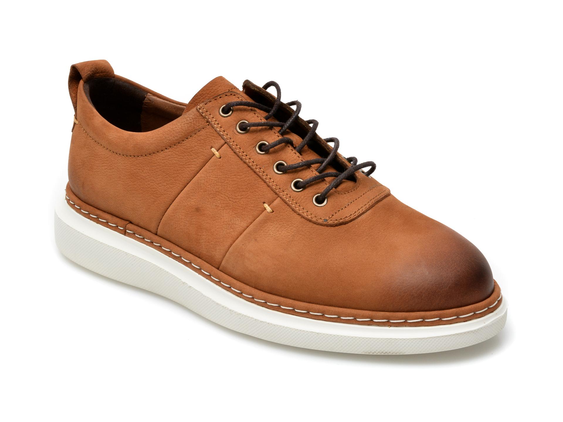 Pantofi OTTER maro, 21KL803, din nabuc imagine otter.ro 2021