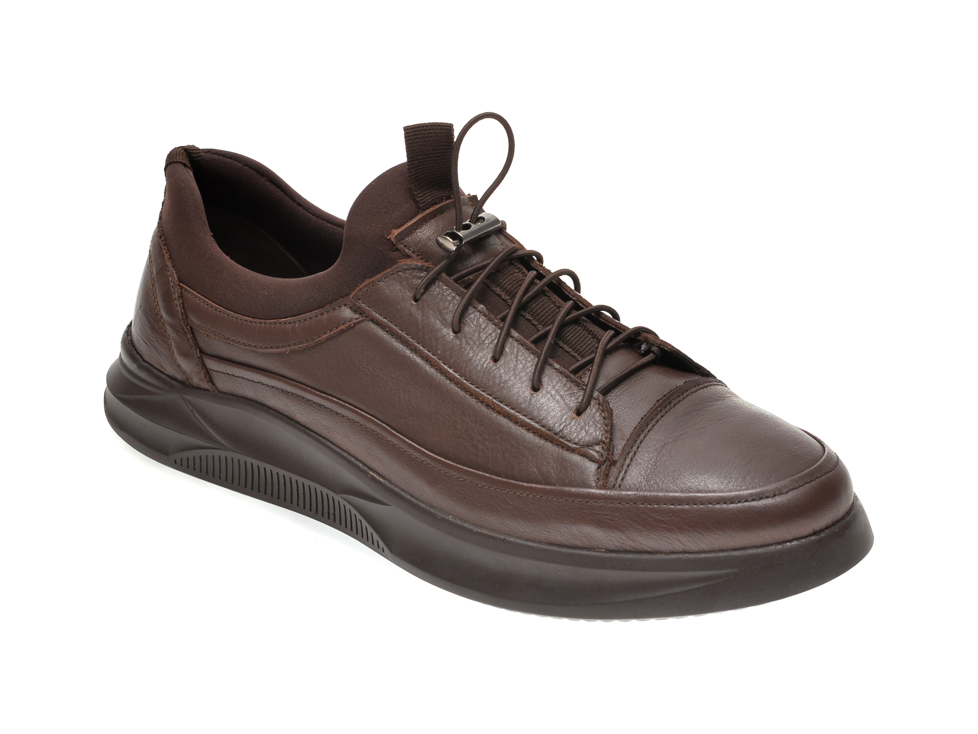 Pantofi OTTER maro, M5794, din piele naturala imagine