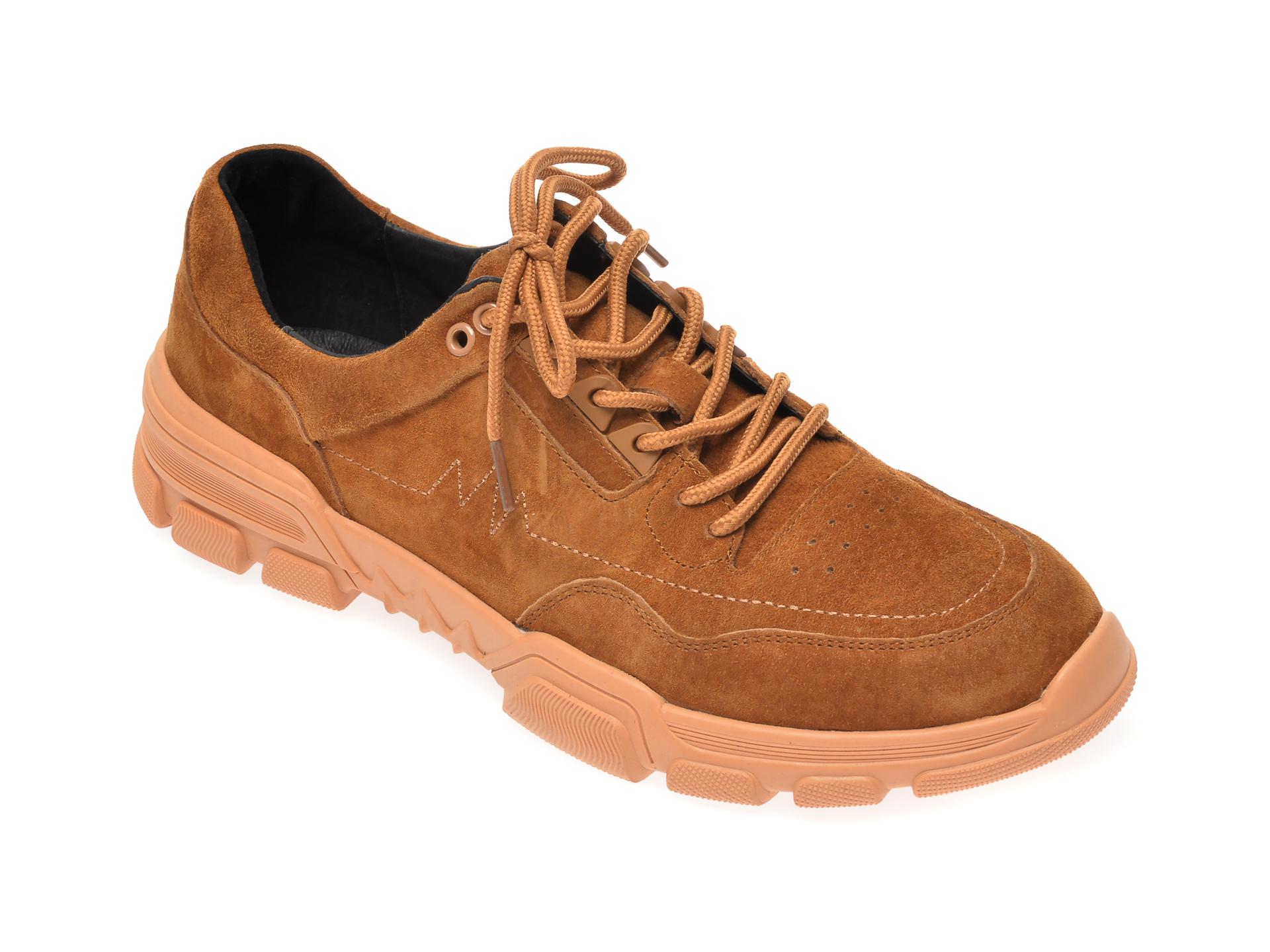 Pantofi Otter Maro, Y93651, Din Nabuc