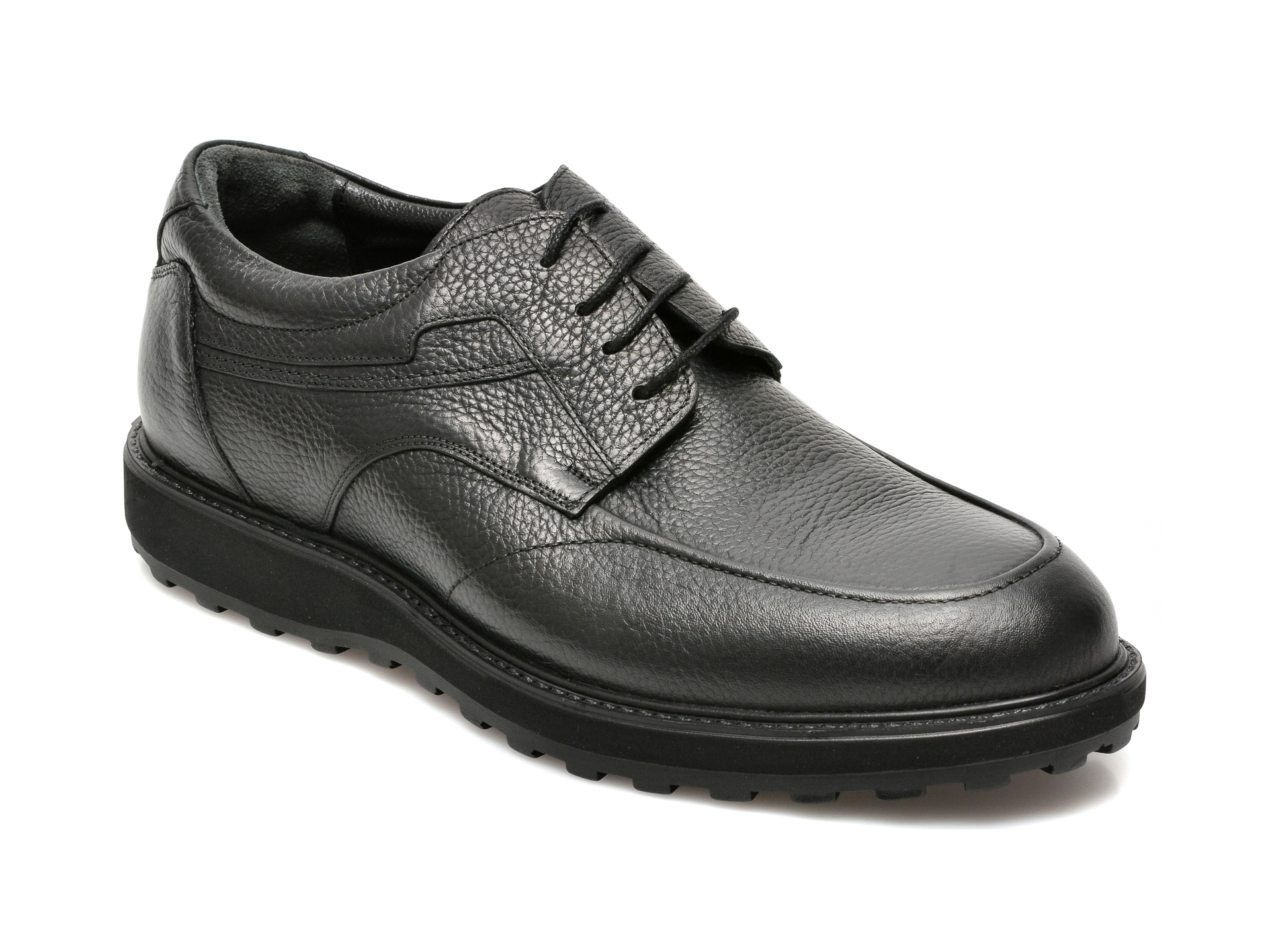 Pantofi OTTER negri, 16757, din piele naturala imagine 2021 Otter