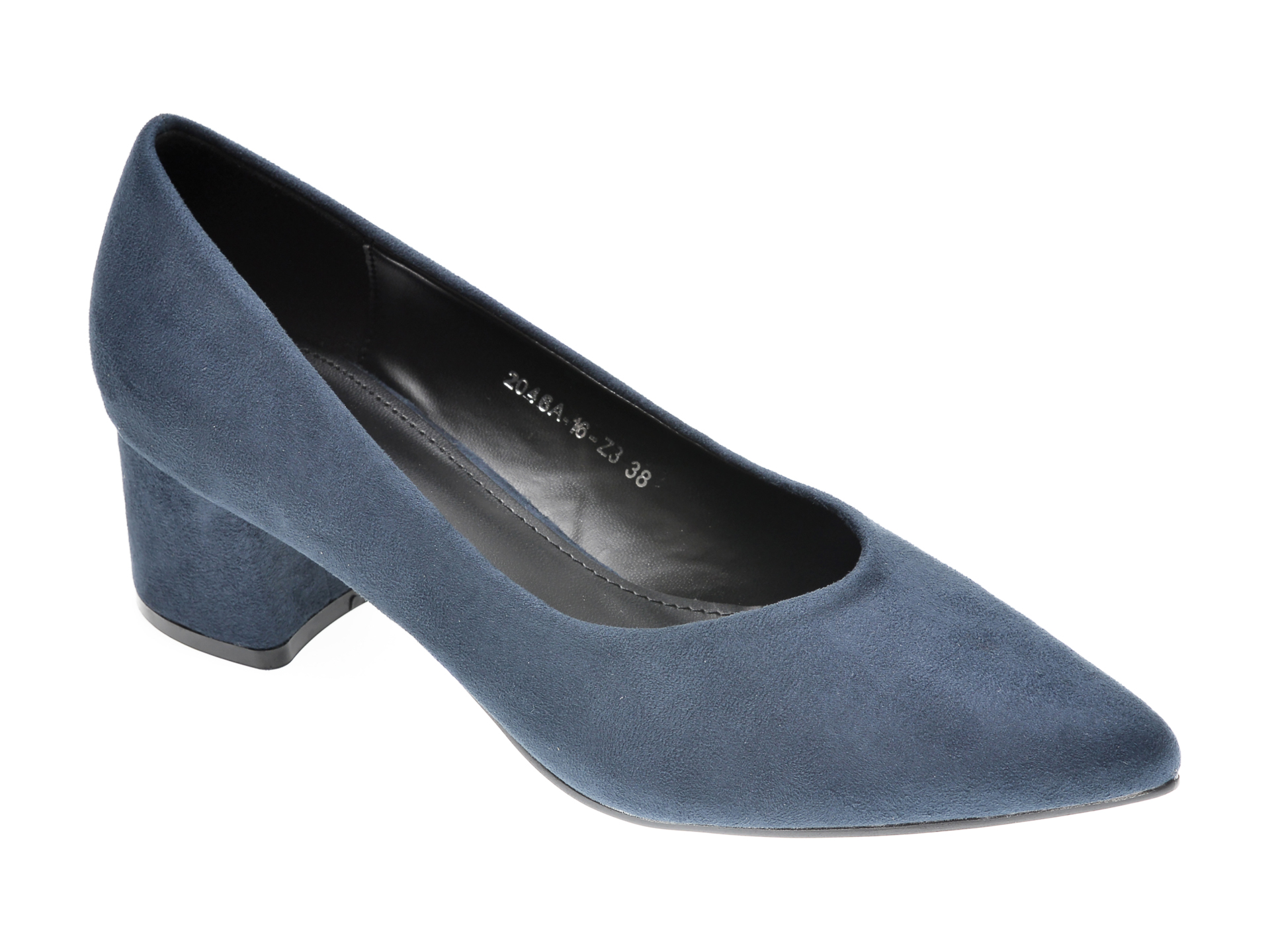 Pantofi RIO FIORE bleumarin, 2046A, din piele ecologica imagine