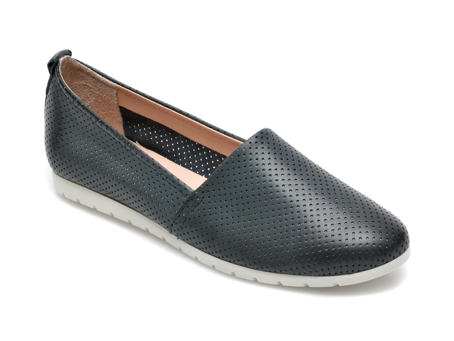 Pantofi SALAMANDER bleumarin, 44501, din piele naturala imagine otter.ro 2021
