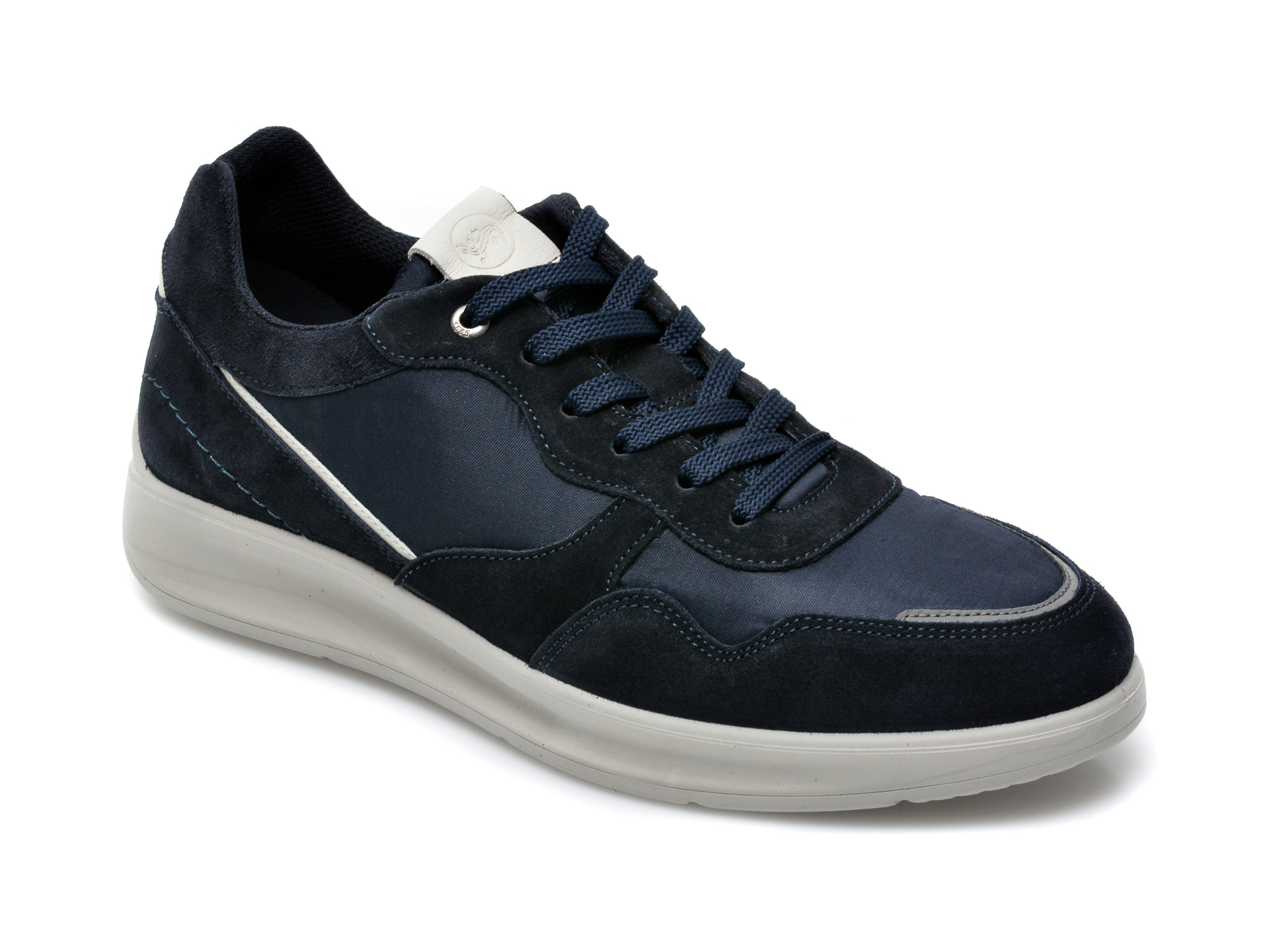 Pantofi SALAMANDER bleumarin, 50901, din material textil si piele naturala imagine 2021 otter.ro