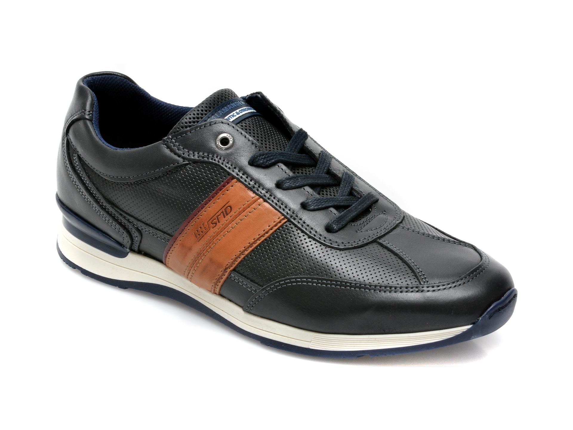 Pantofi SALAMANDER bleumarin, 56211, din piele naturala imagine otter.ro 2021
