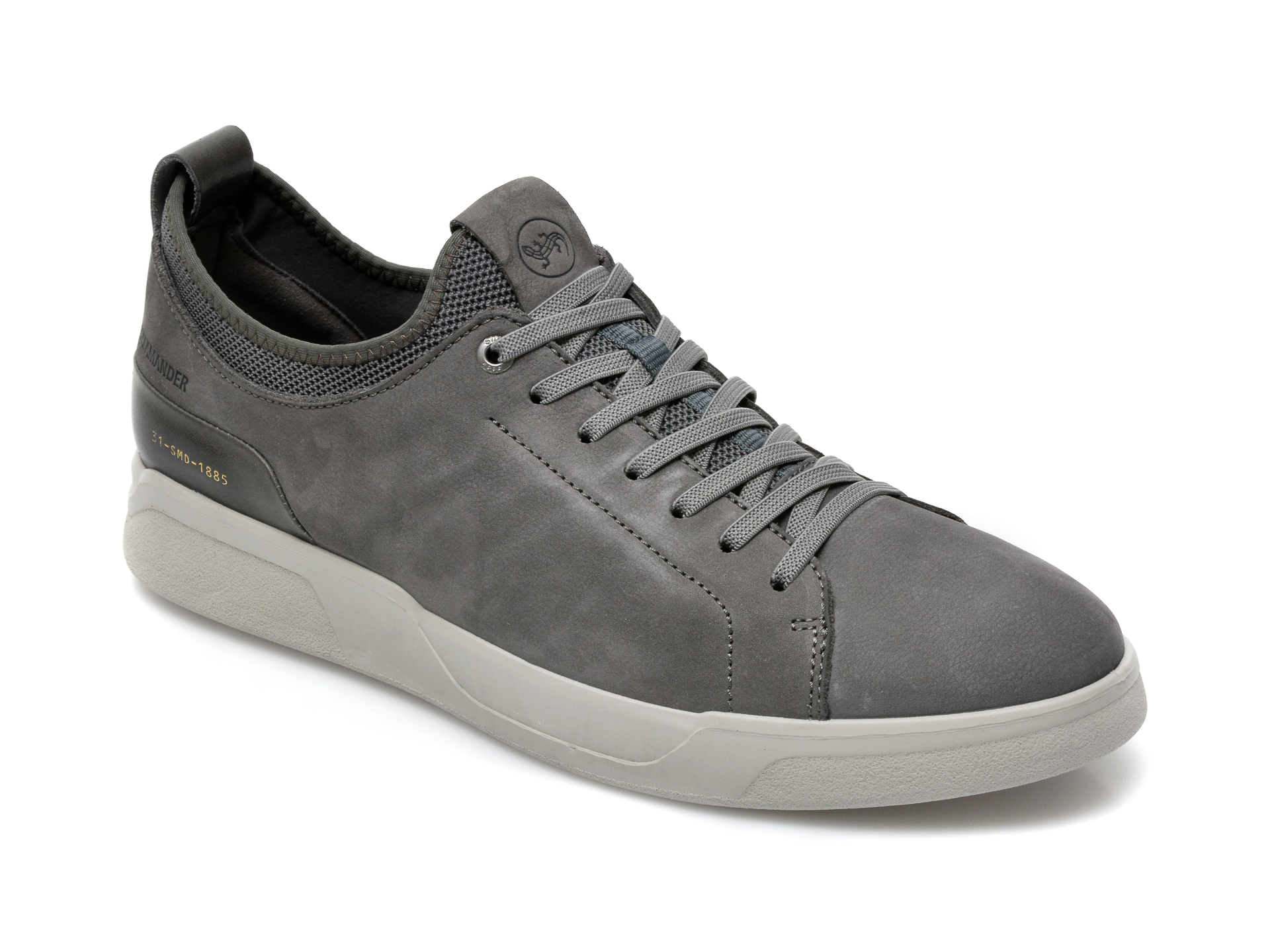 Pantofi SALAMANDER nabuc, 54502, din piele naturala imagine otter.ro 2021